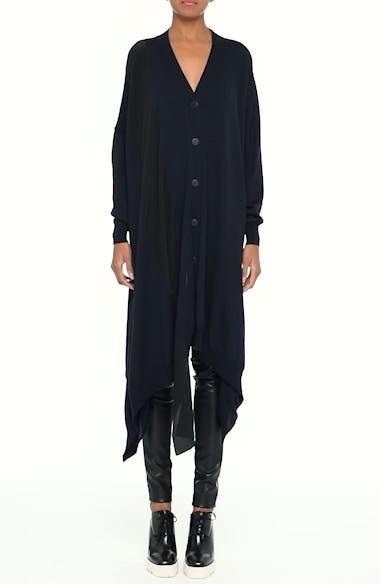 Virgin Wool Cardigan with Silk Inset, video thumbnail