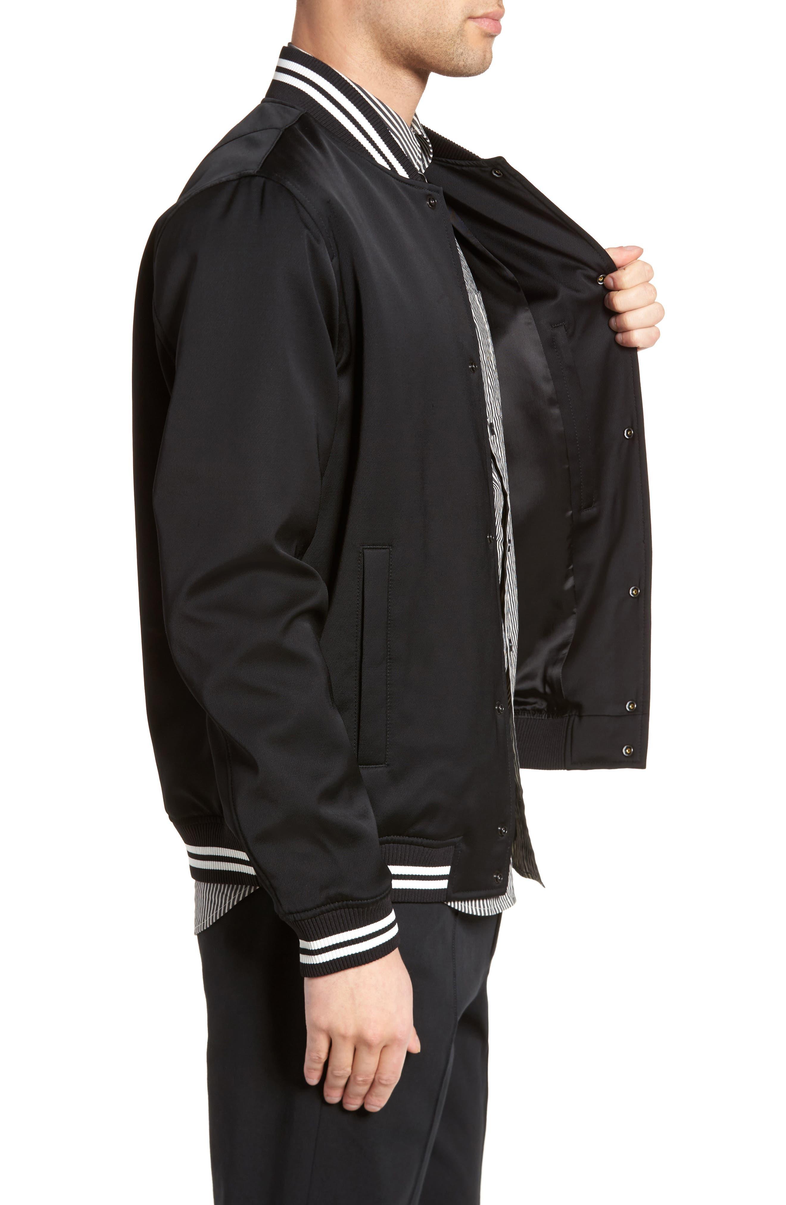 Varsity Jacket,                             Alternate thumbnail 3, color,                             001