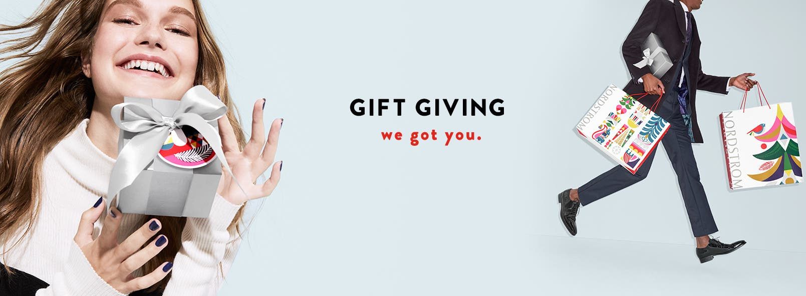 Gift giving: we got you. Christmas and holiday gifts.