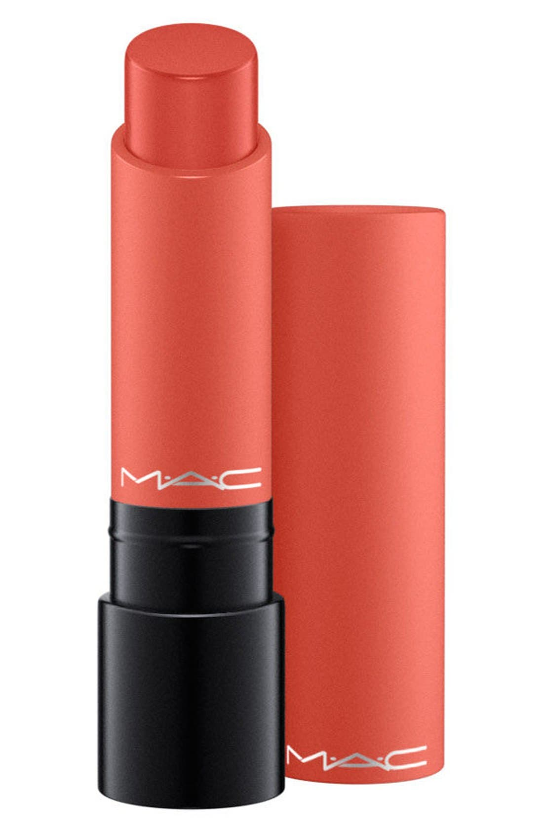 MAC Liptensity Lipstick,                             Alternate thumbnail 4, color,                             SMOKED ALMOND