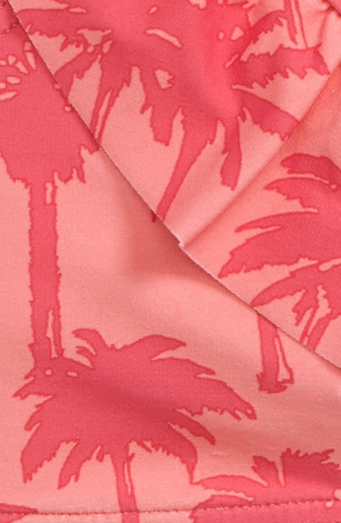 Palm Print Two-Piece Swimsuit,                             Alternate thumbnail 2, color,                             950