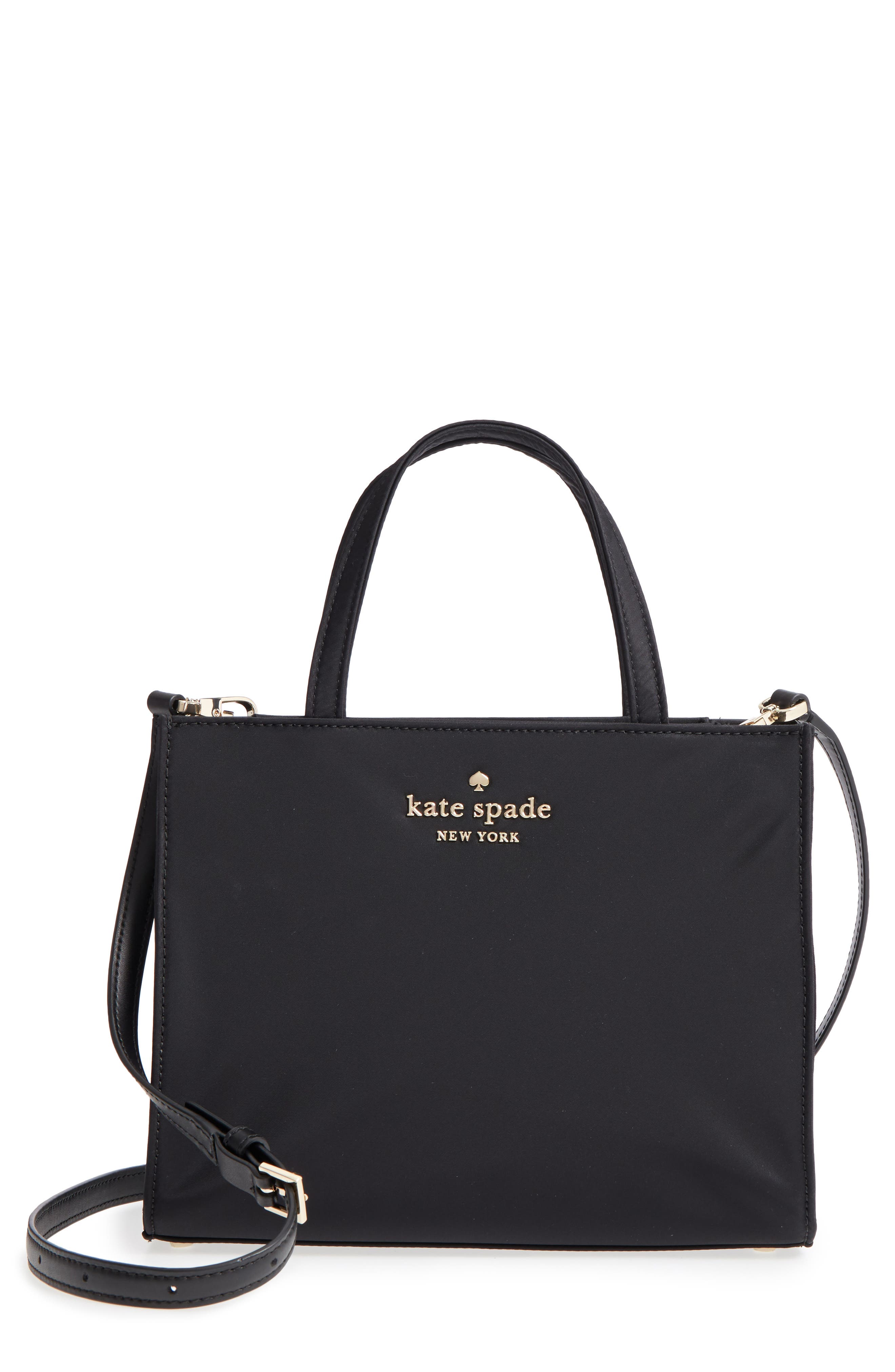 watson lane – sam nylon satchel,                         Main,                         color, BLACK
