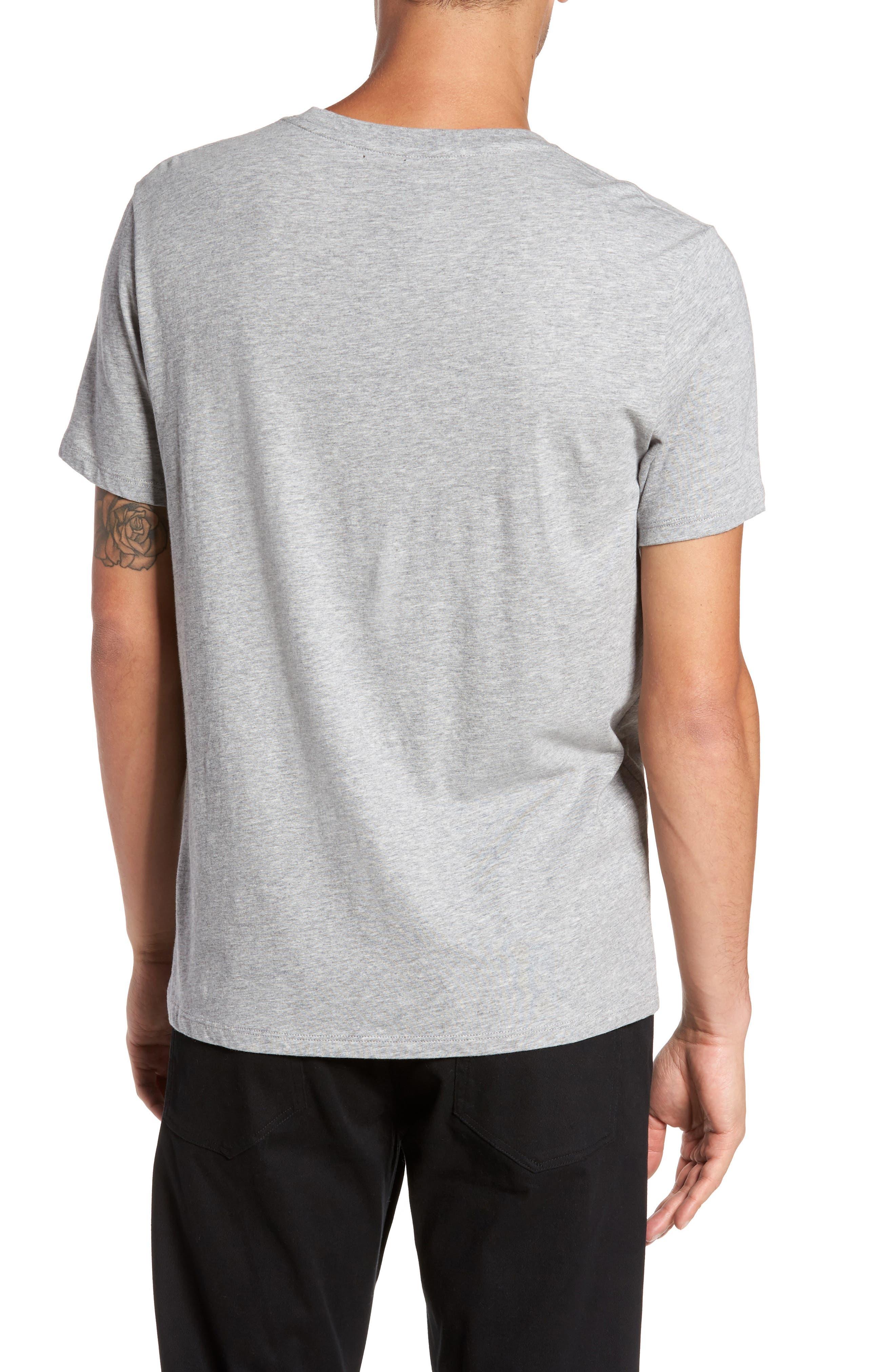 Regular Fit Crewneck T-Shirt,                             Alternate thumbnail 2, color,                             095