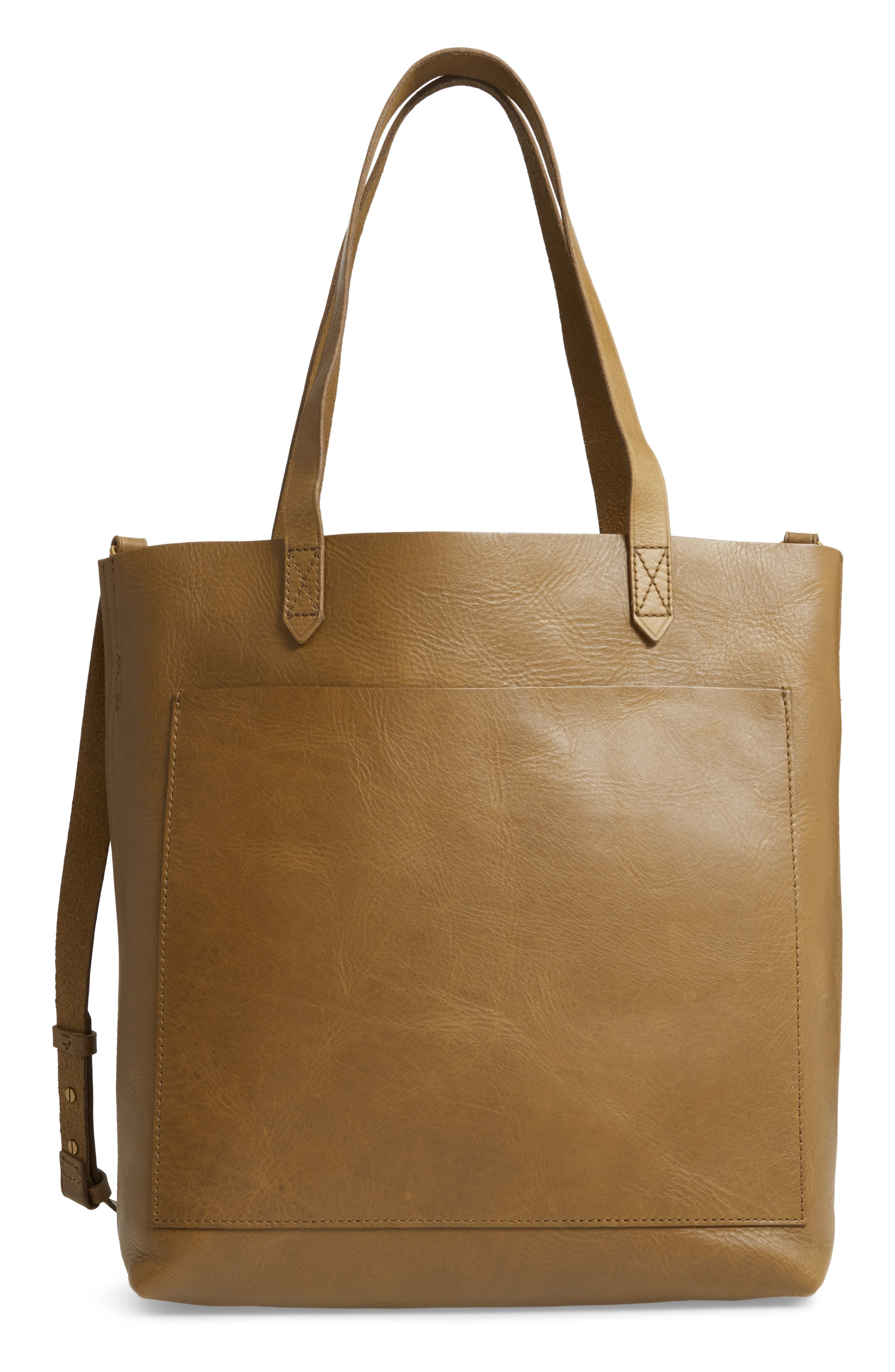 Medium Leather Transport Tote,                             Main thumbnail 3, color,