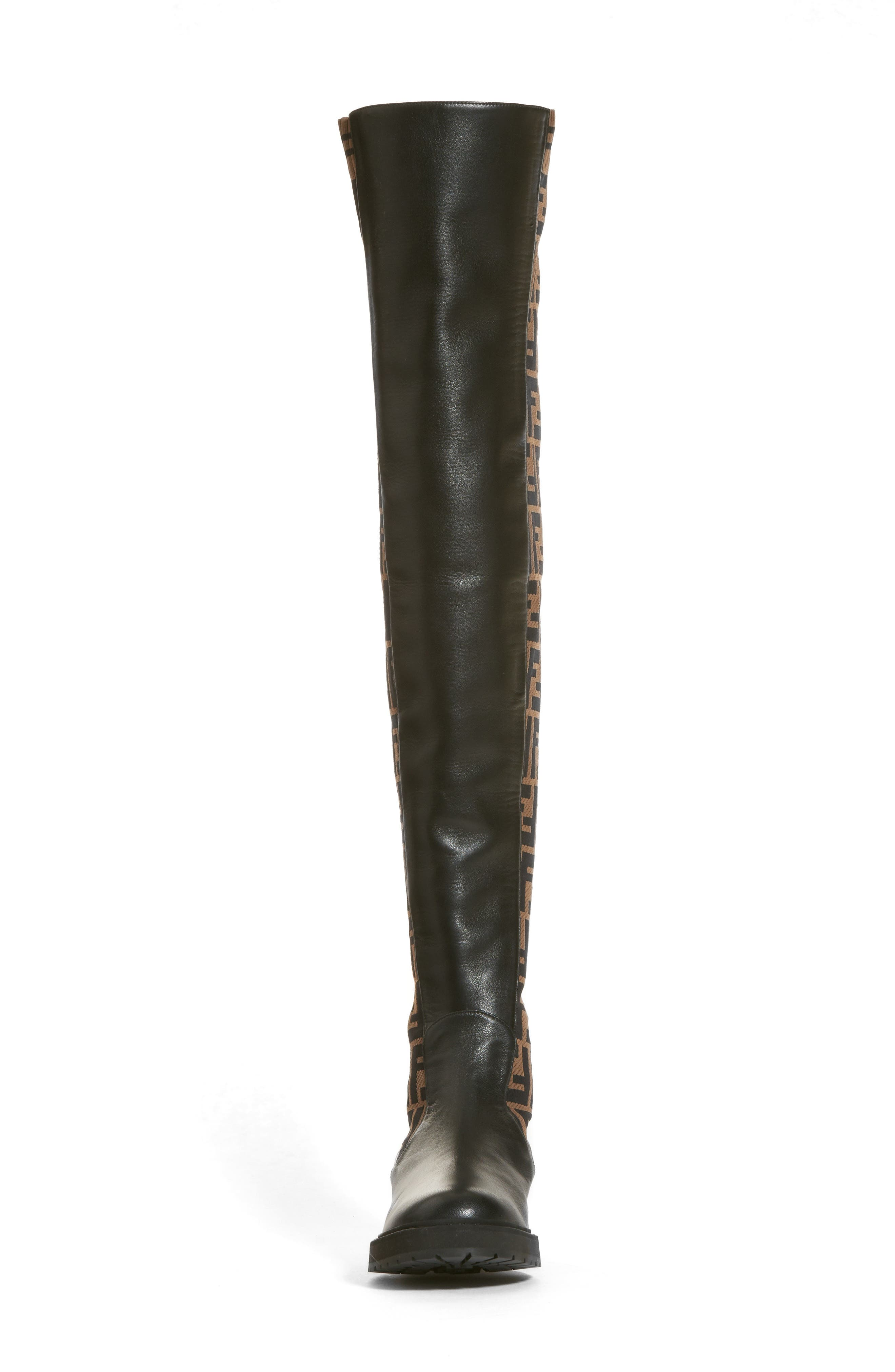 Rockoko Over the Knee Boot,                             Alternate thumbnail 4, color,