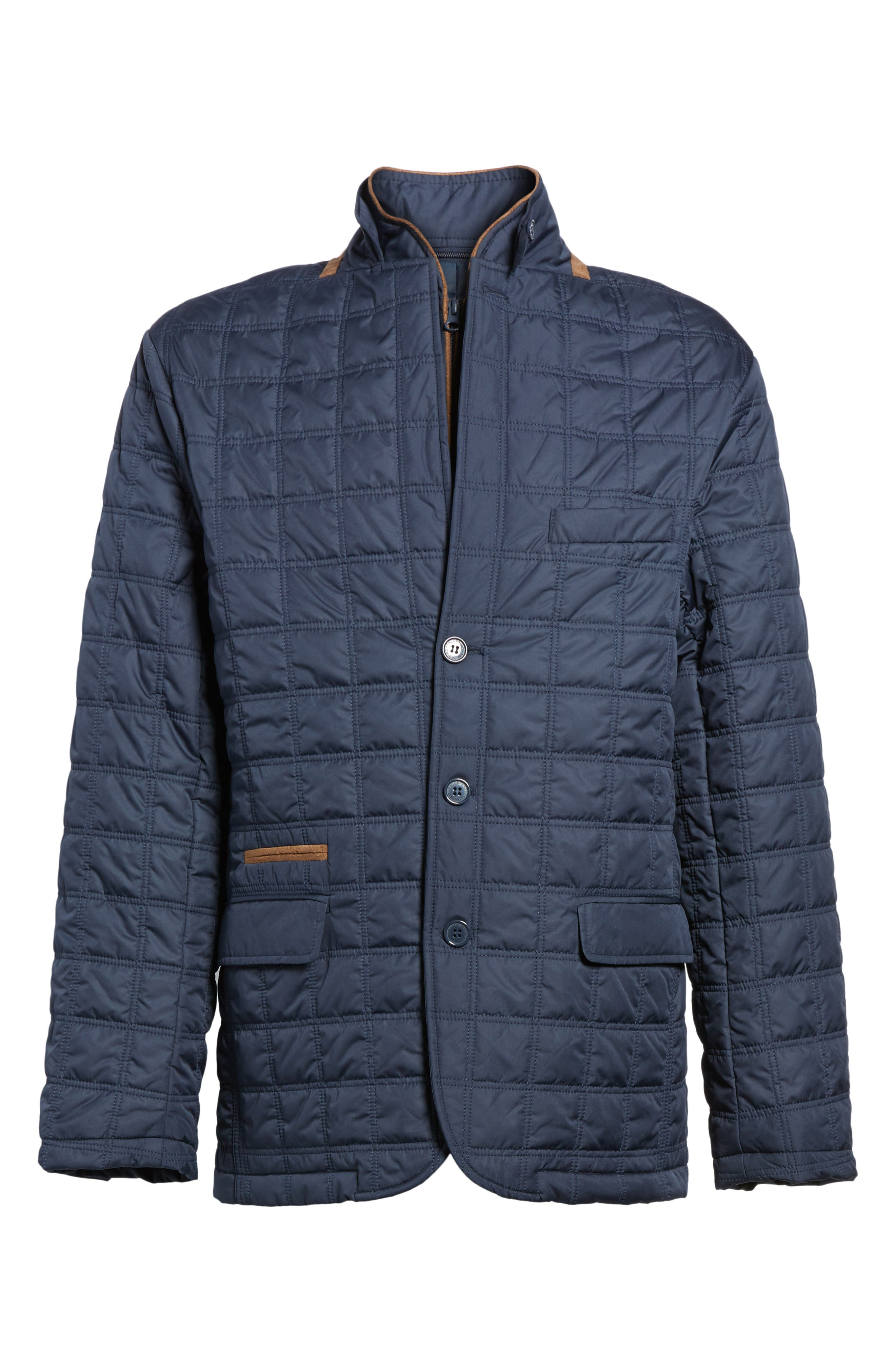 Hodge Quilted Jacket,                             Alternate thumbnail 5, color,                             410