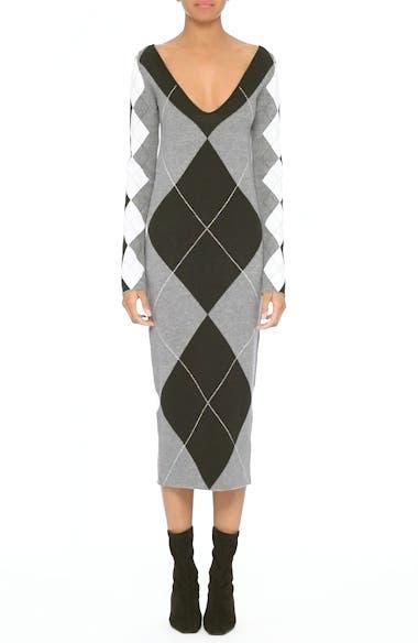 Argyle Sweater Dress, video thumbnail