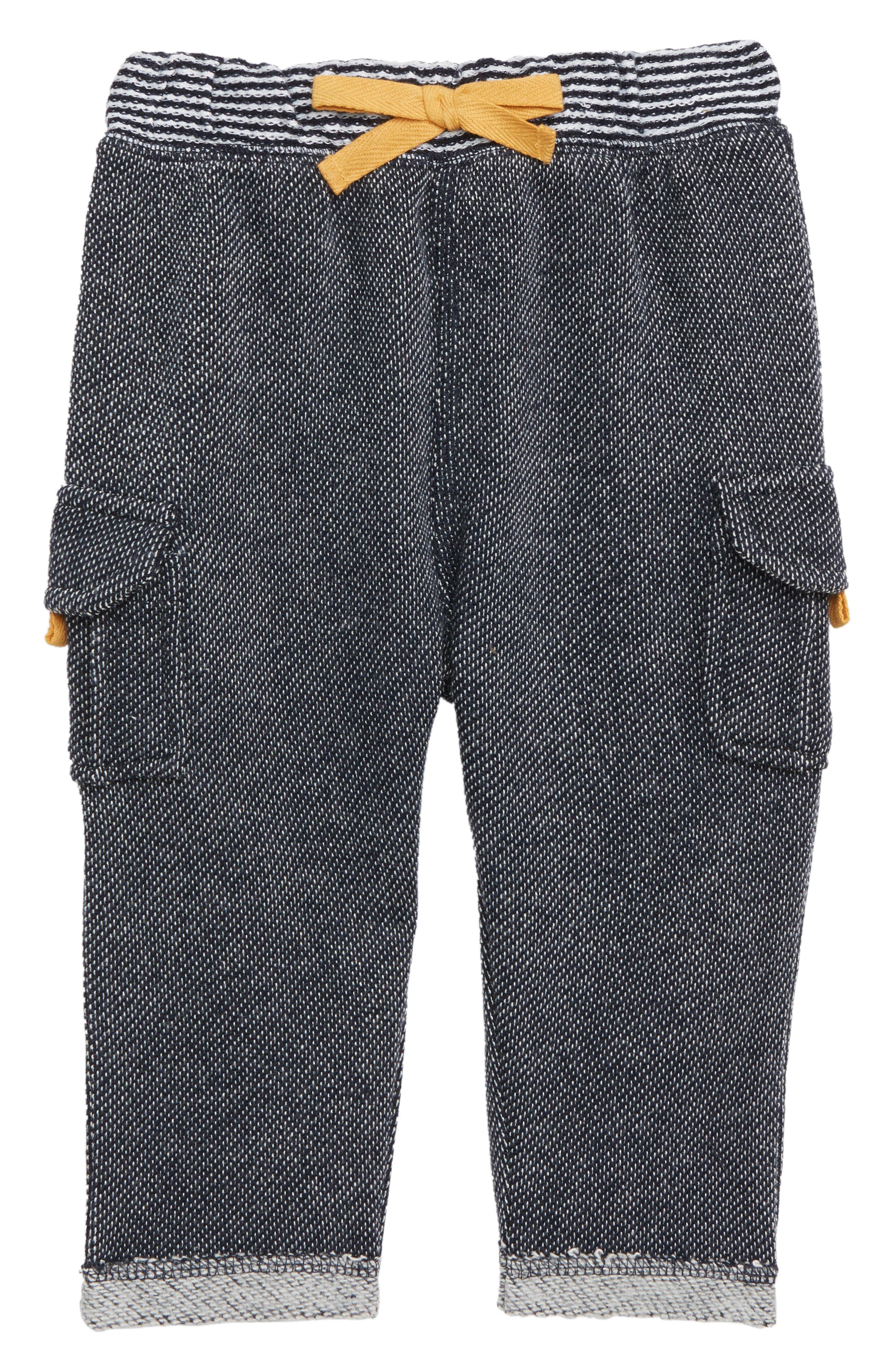 Infant Boys Peek Milo Jogger Pants Size S (36m)  Blue