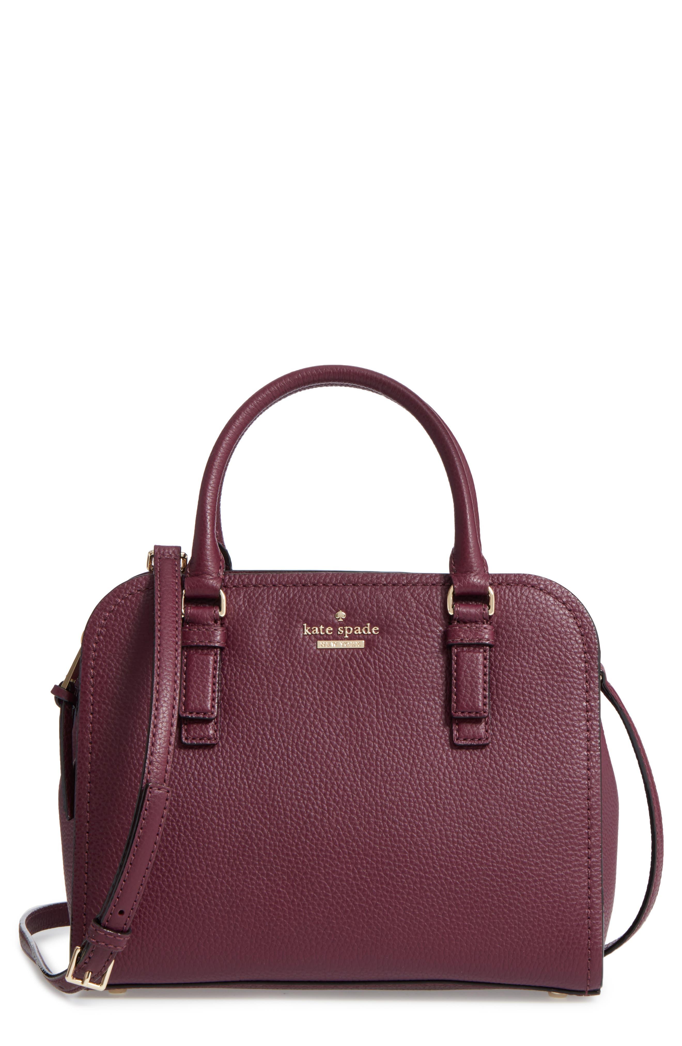 jackson street small kiernan leather top handle satchel,                             Main thumbnail 1, color,                             545