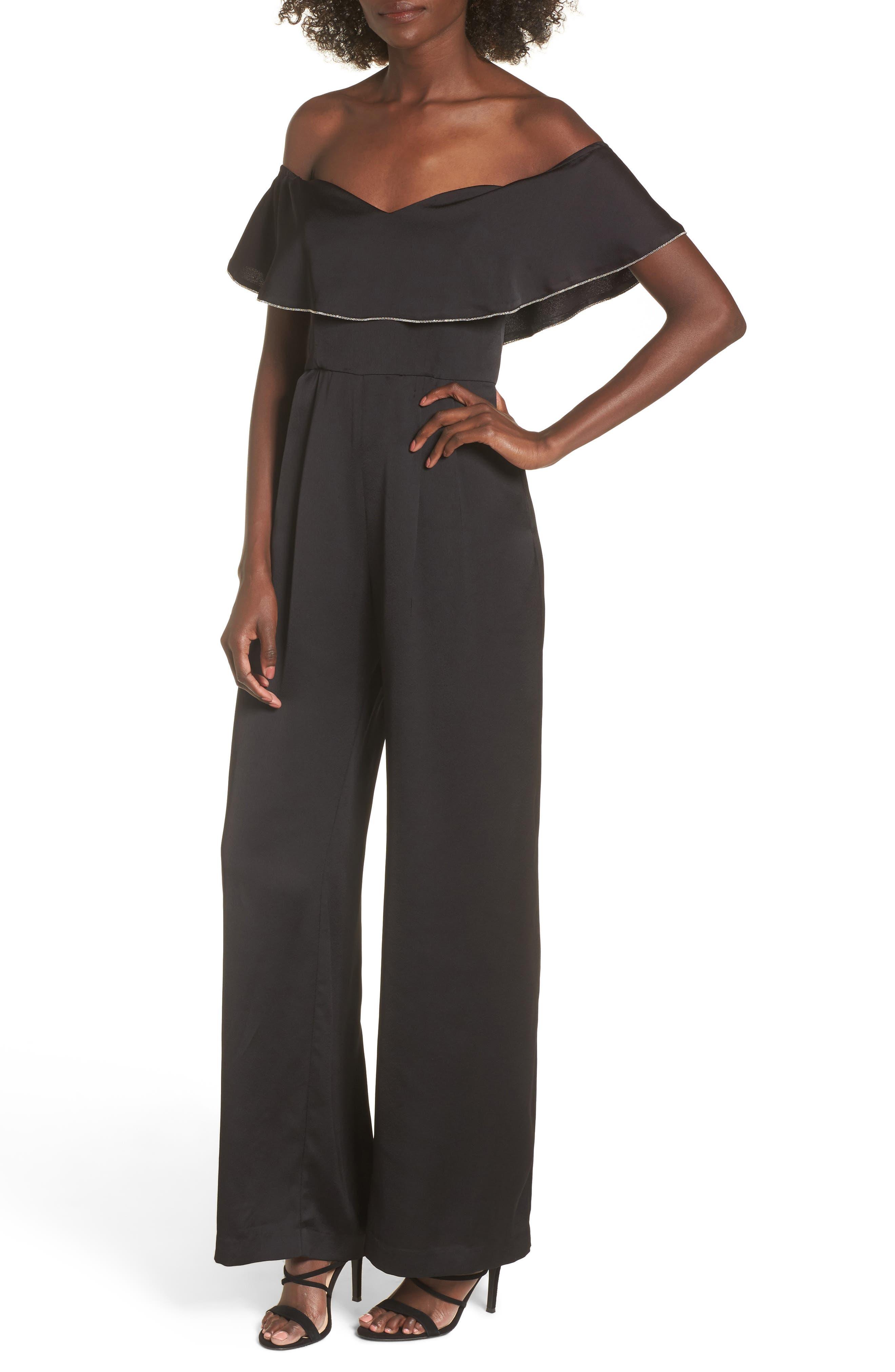 Melanie Strapless Jumpsuit,                         Main,                         color,