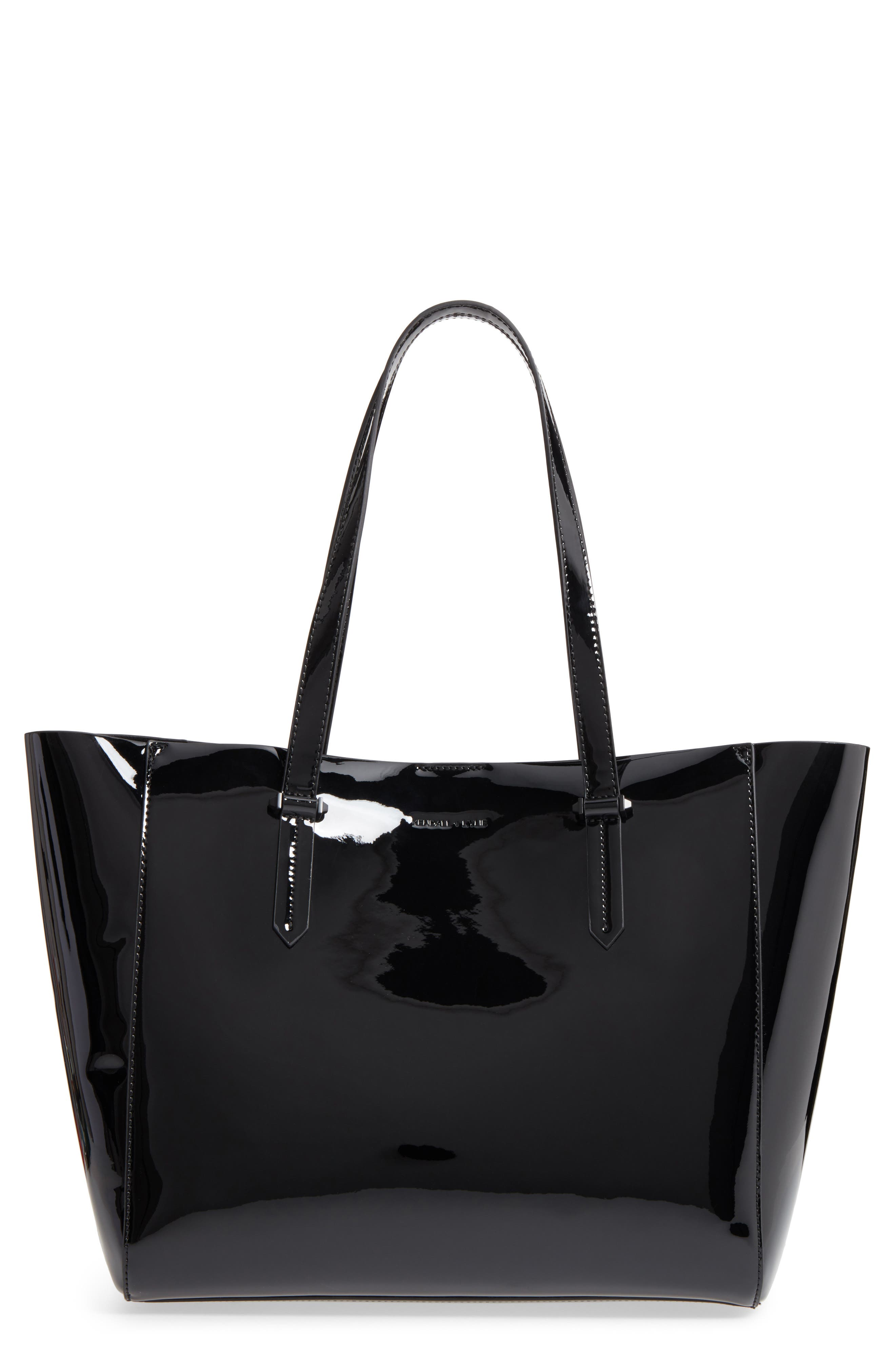 Izzy Faux Leather Tote,                         Main,                         color,