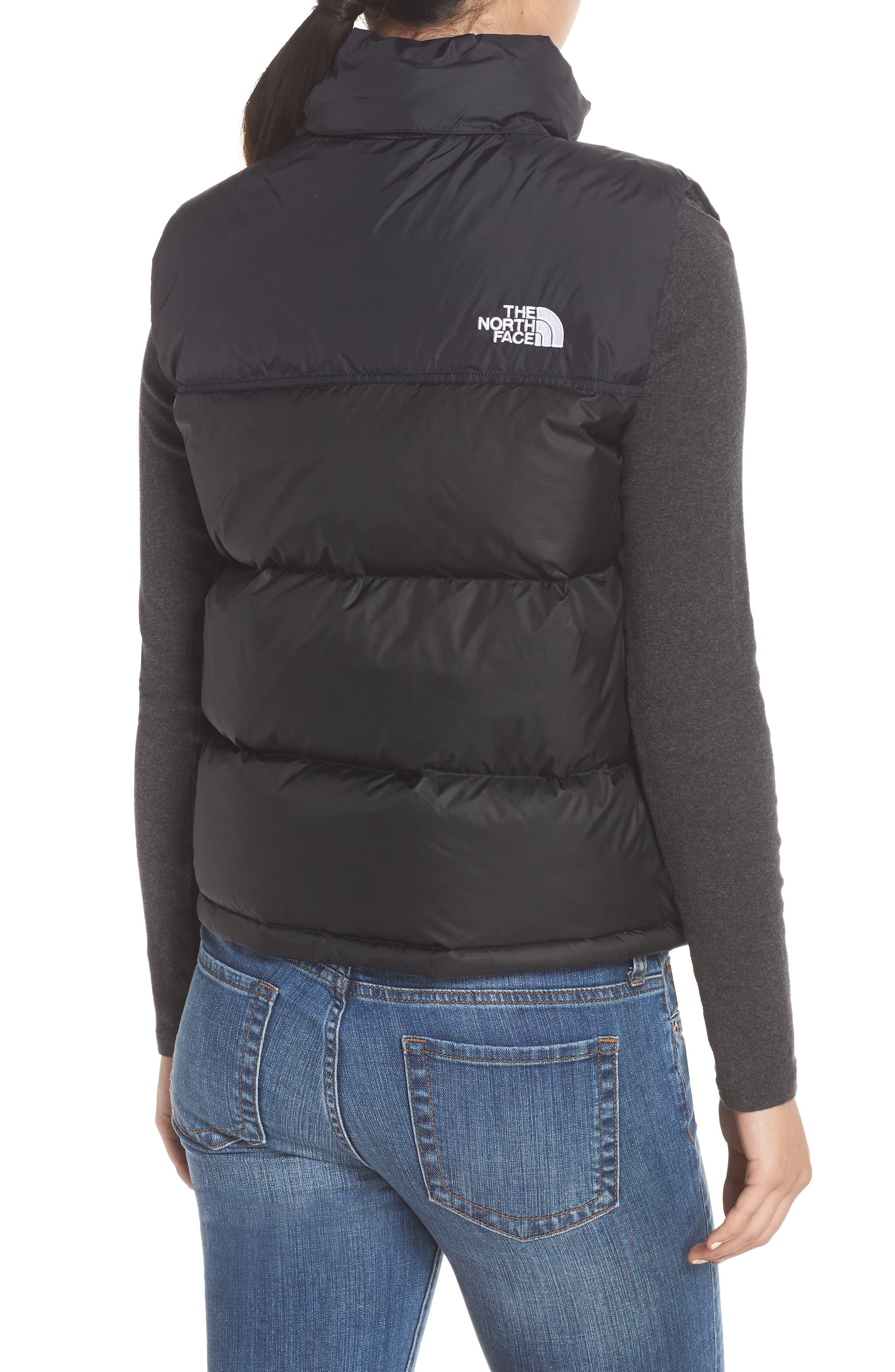Nuptse 1996 Packable 700-Fill Power Down Vest,                             Alternate thumbnail 2, color,                             TNF BLACK