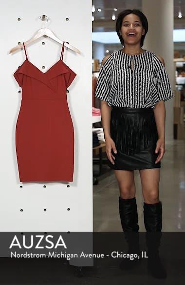 Cold Shoulder Body-Con Dress, sales video thumbnail