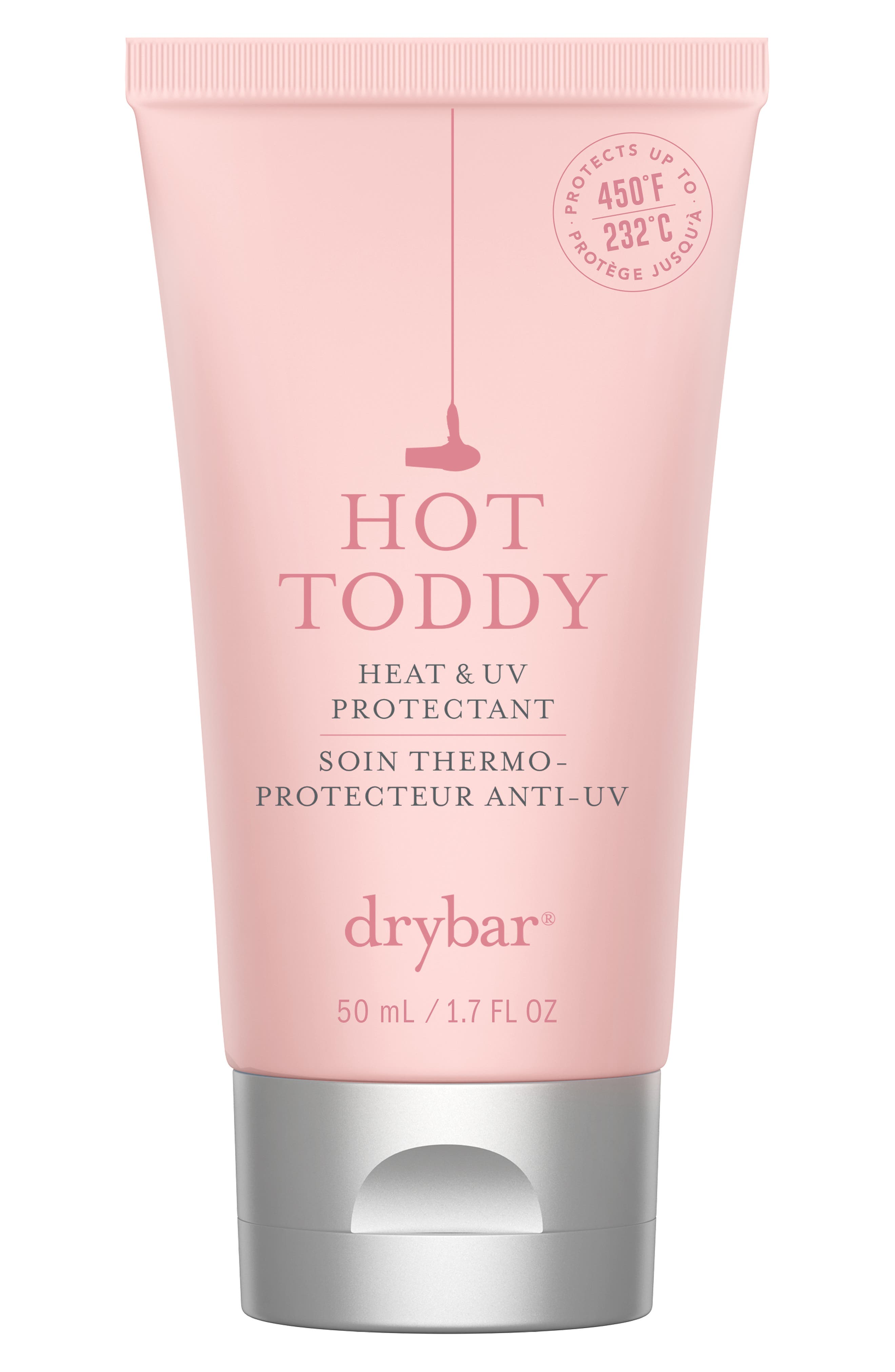 DRYBAR 'Hot Toddy' Heat & UV Protectant, Main, color, NO COLOR