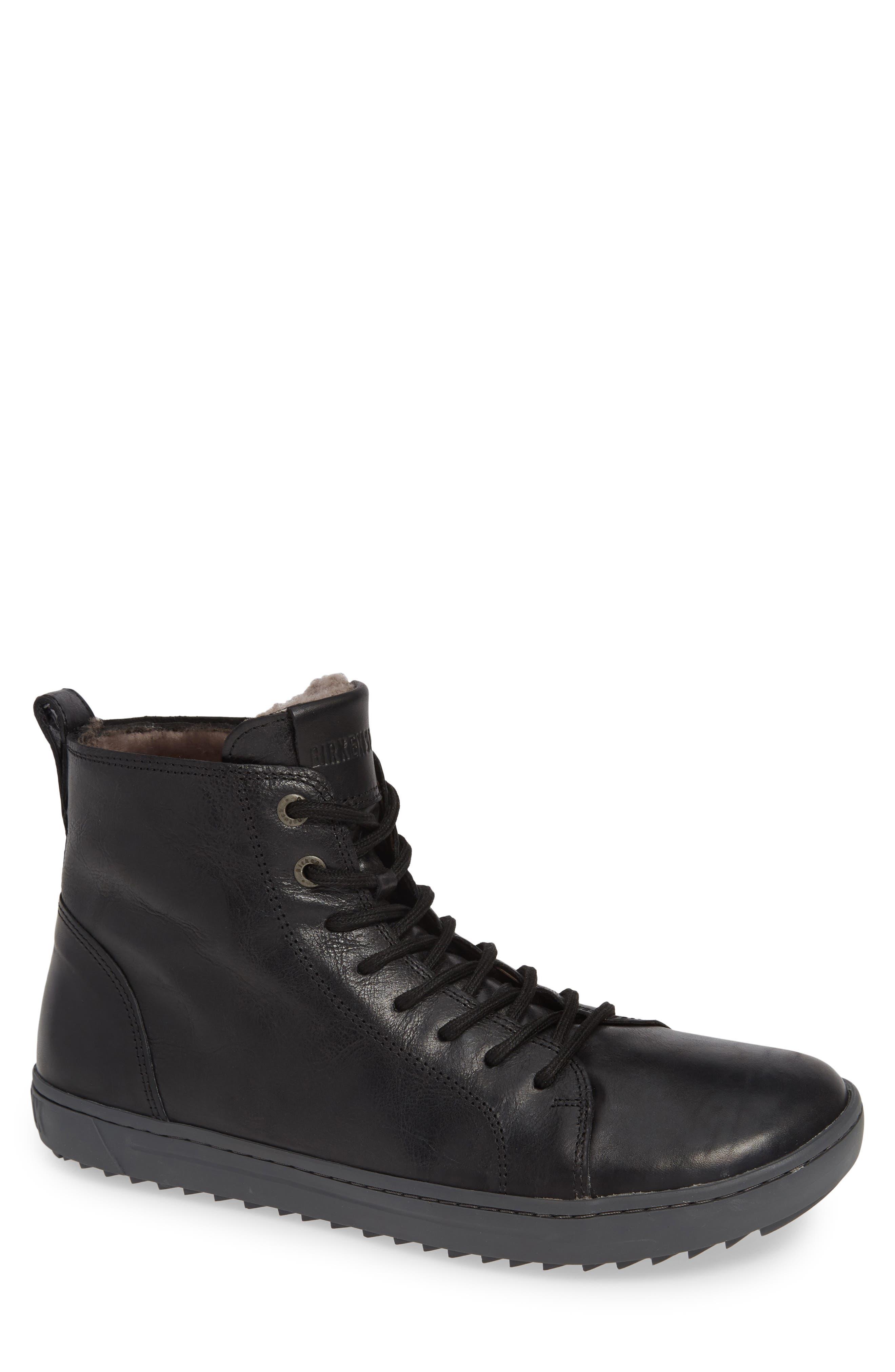 Birkenstock Barlett Genuine Shearling Sneaker,13.5 - Black