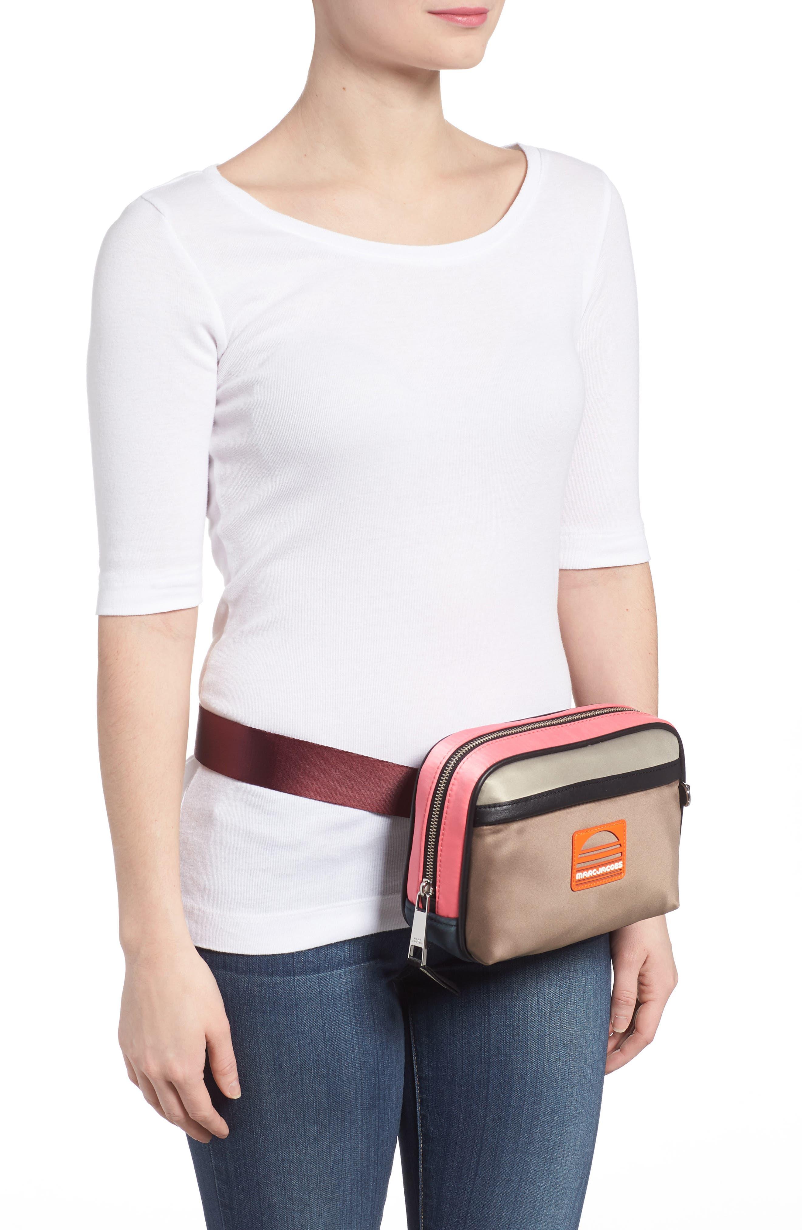 Sport Colorblock Belt Bag,                             Alternate thumbnail 6, color,