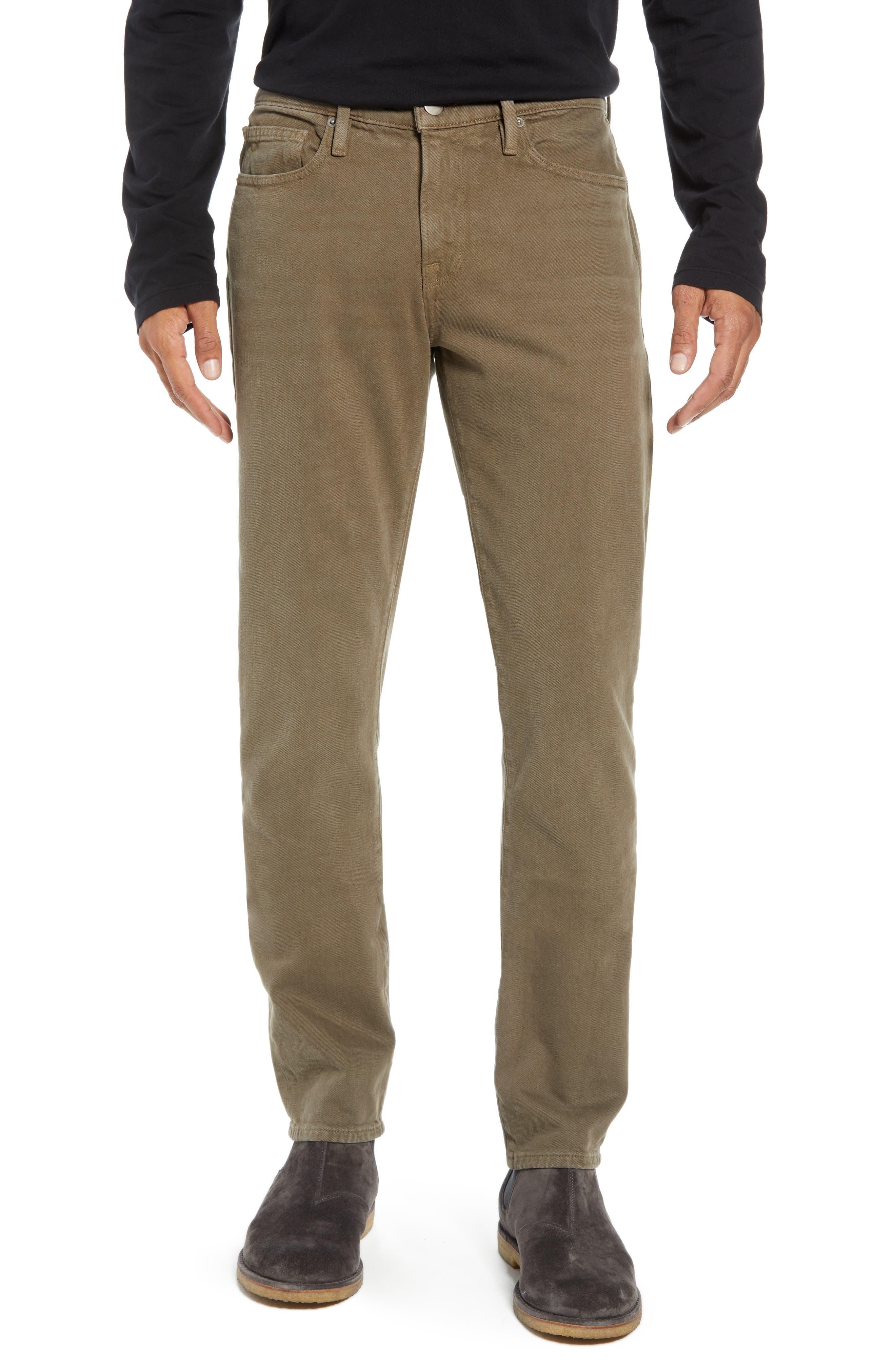 L'Homme Slim Fit Jeans,                             Main thumbnail 1, color,                             CORIANDER