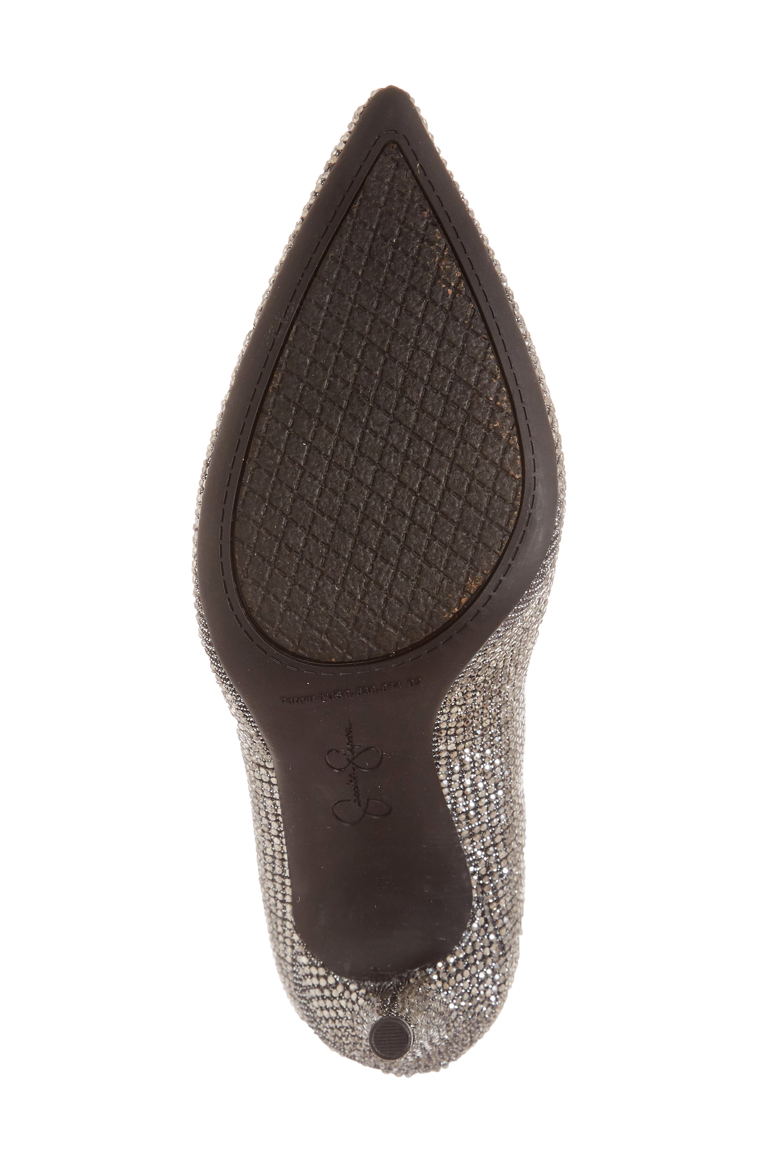 Lasnia Embellished Bootie,                             Alternate thumbnail 6, color,                             PEWTER MULTI