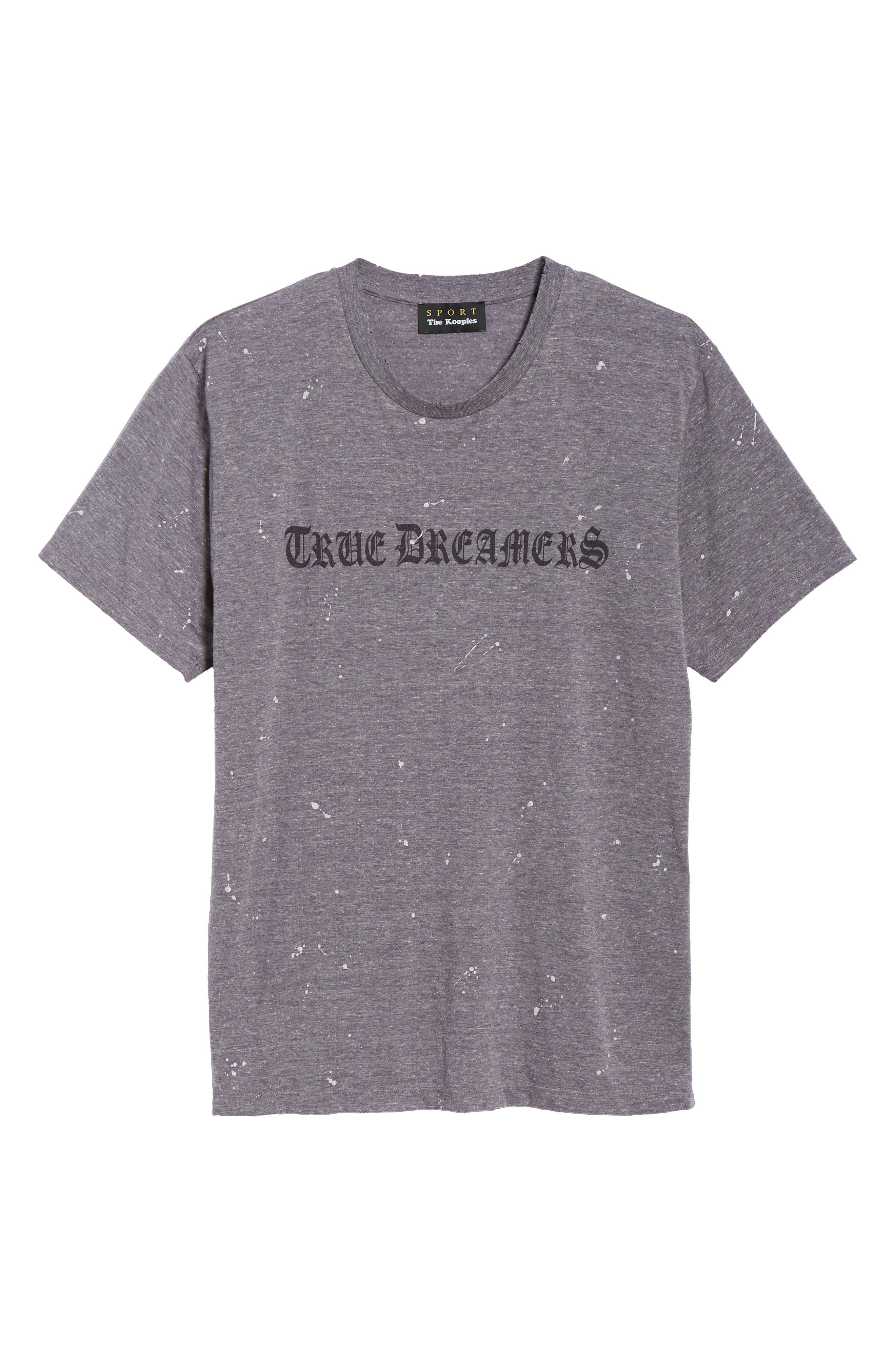 Transcript T-Shirt,                             Alternate thumbnail 6, color,                             GREY