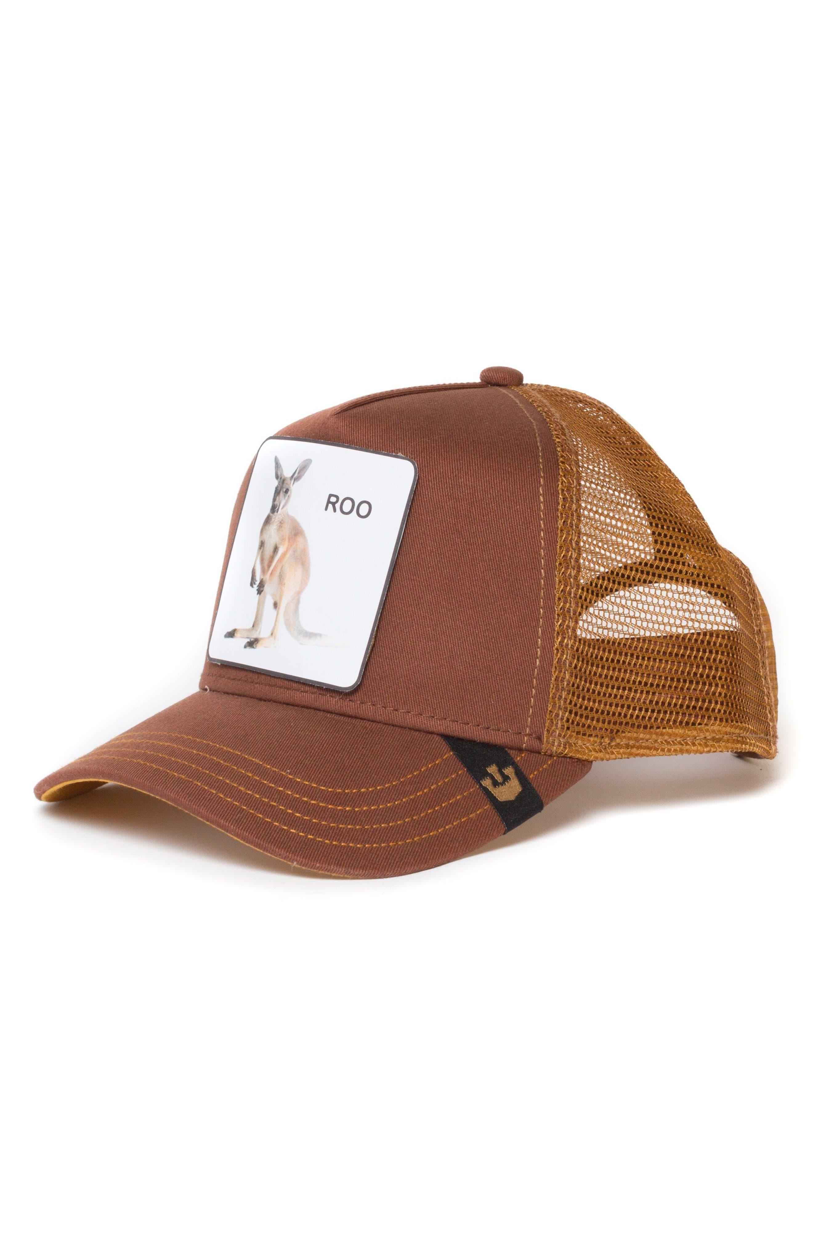 Kangaroo Trucker Hat,                         Main,                         color, 201