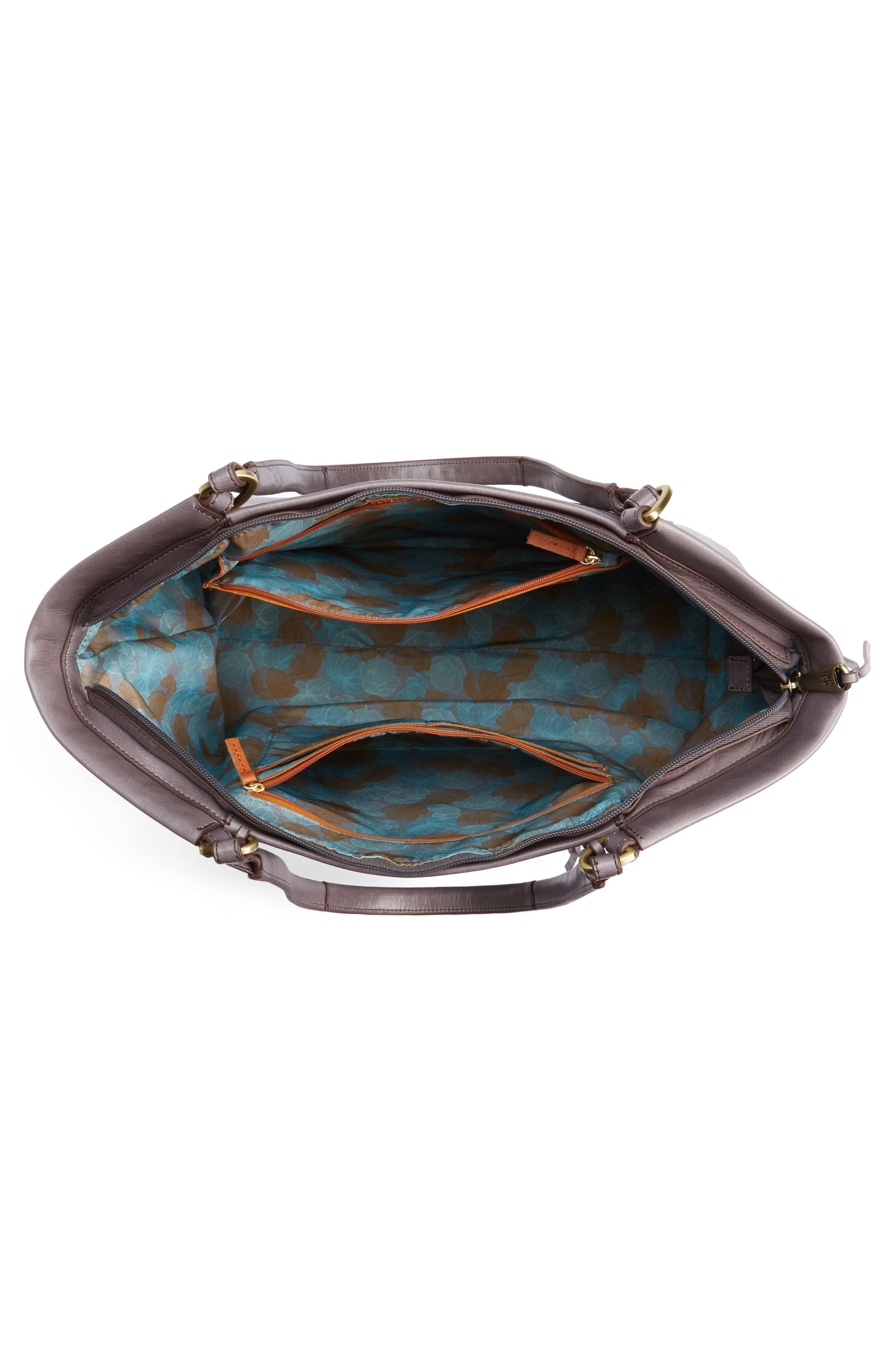 Maryanna Leather Tote,                             Alternate thumbnail 19, color,