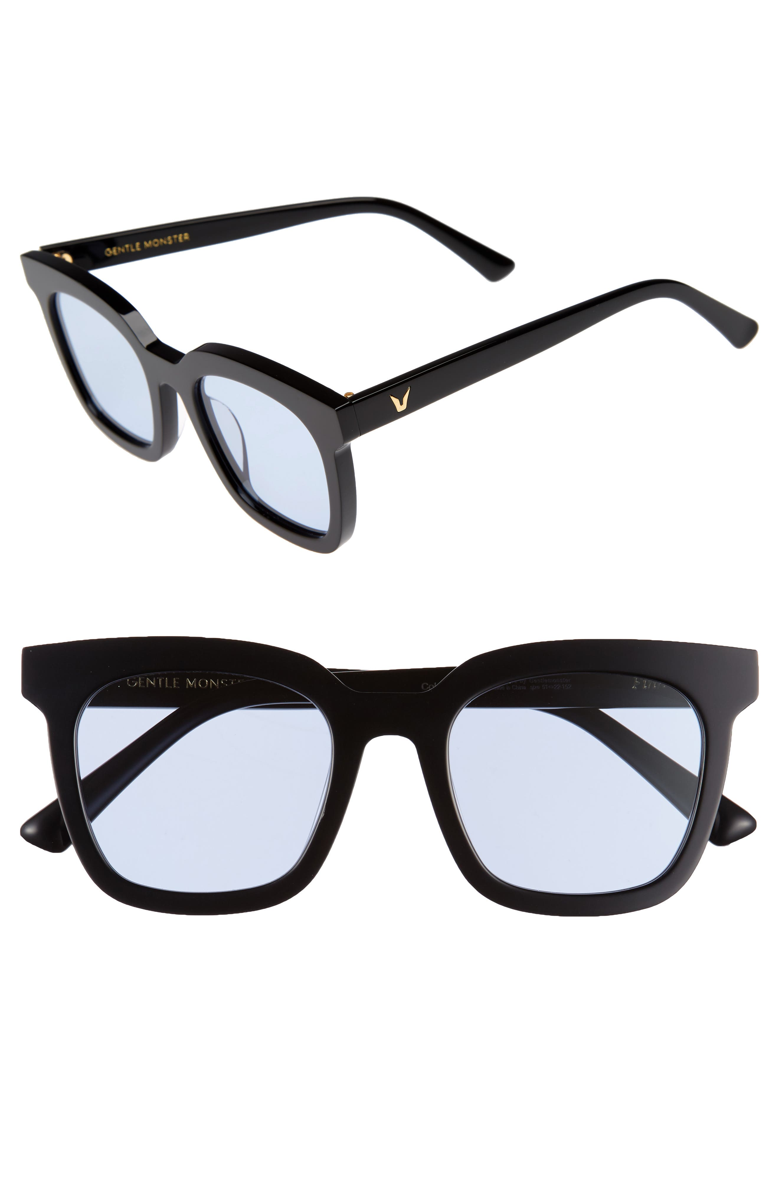 Finn 51mm Sunglasses,                             Main thumbnail 1, color,                             001