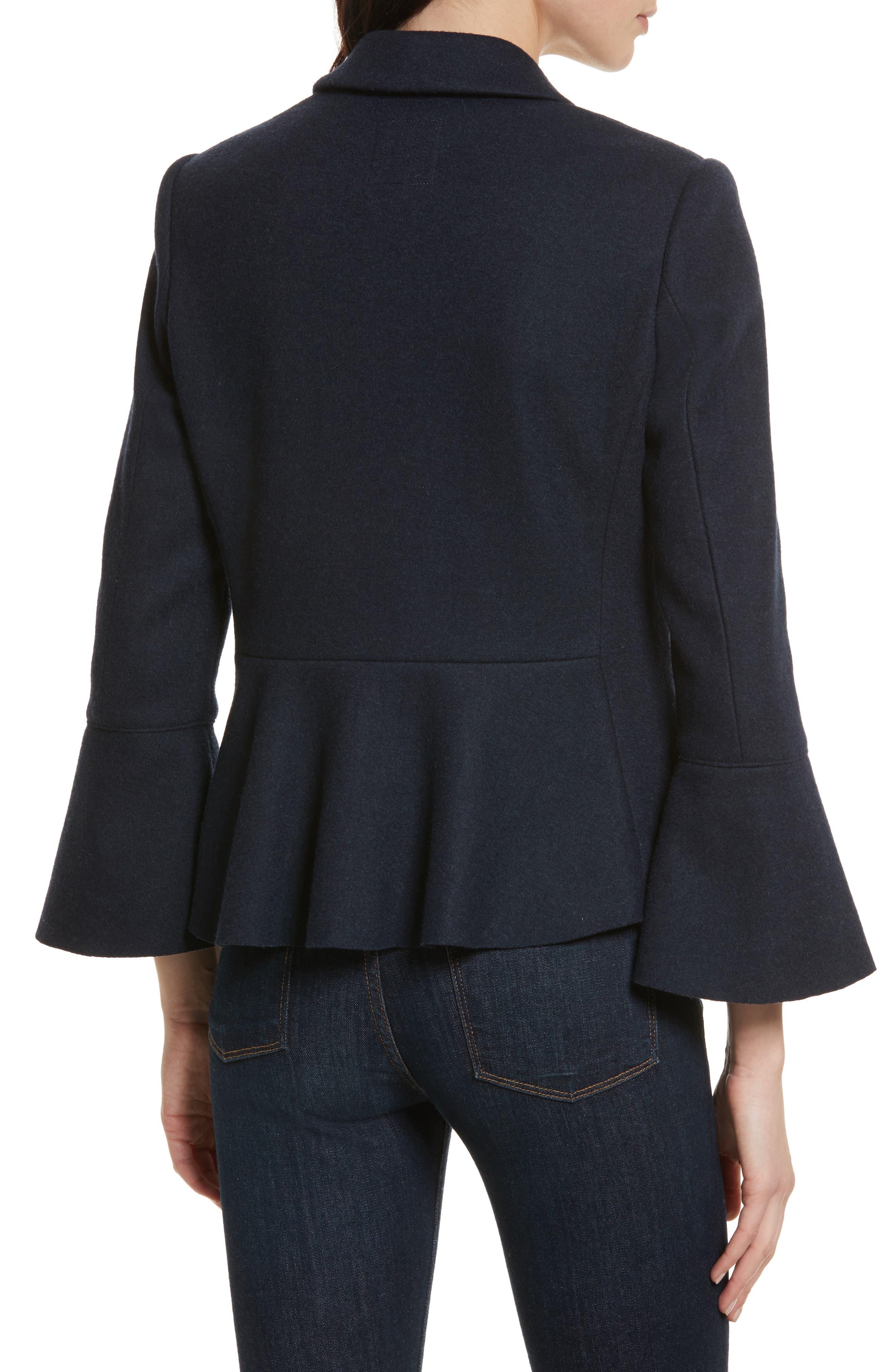 Aeolia Bell Sleeve Jacket,                             Alternate thumbnail 2, color,                             418