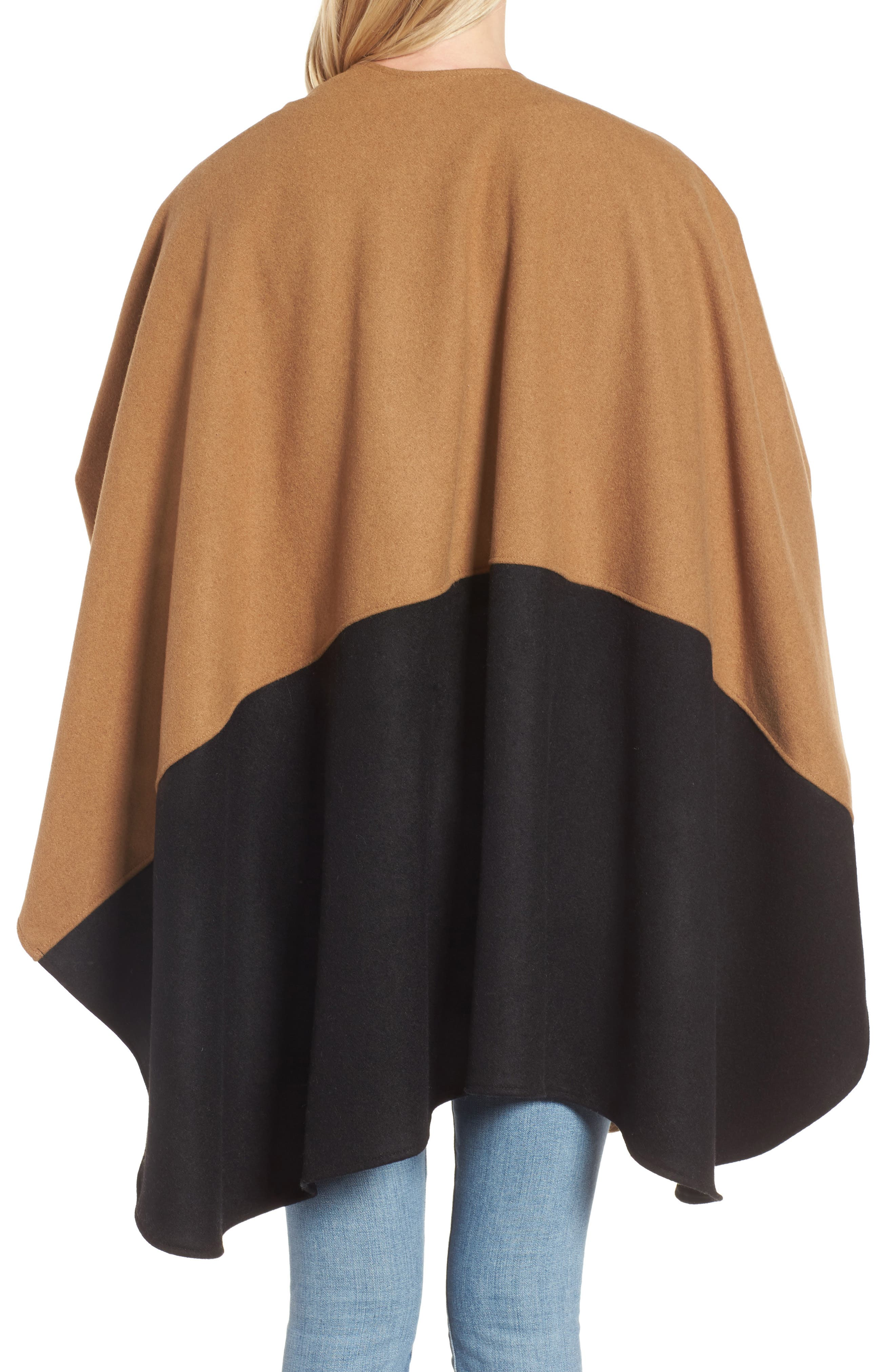 Duo Wonder Wool Cape,                             Alternate thumbnail 4, color,