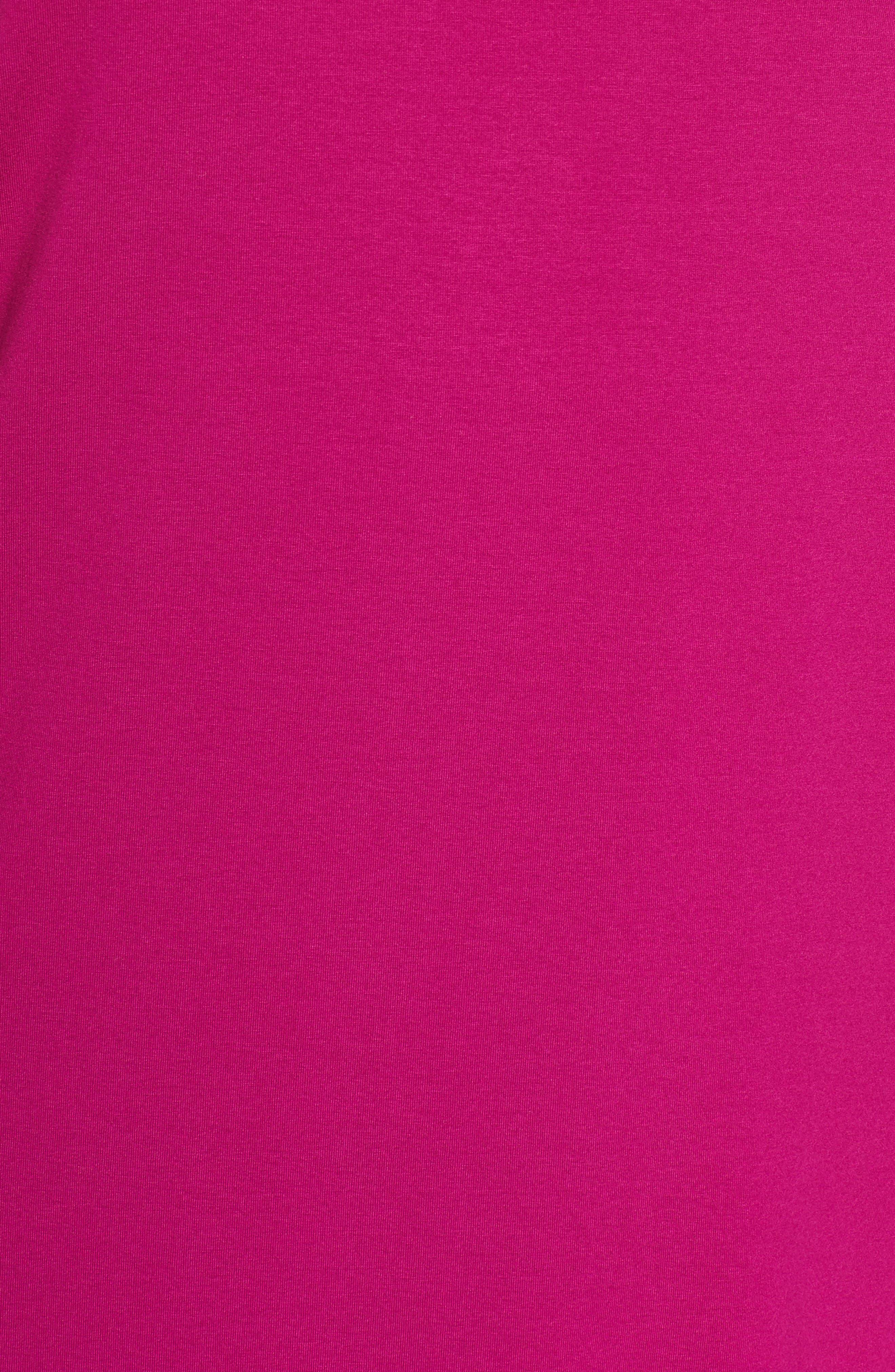 V-Neck Stretch Jersey Shift Dress,                             Alternate thumbnail 26, color,