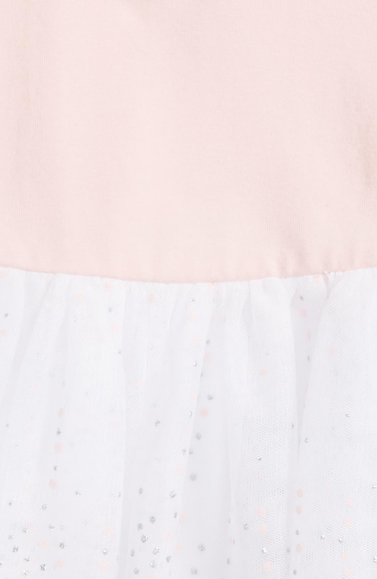 Embossed Star Bomber Jacket & Glitter Dress Set,                             Alternate thumbnail 2, color,                             650
