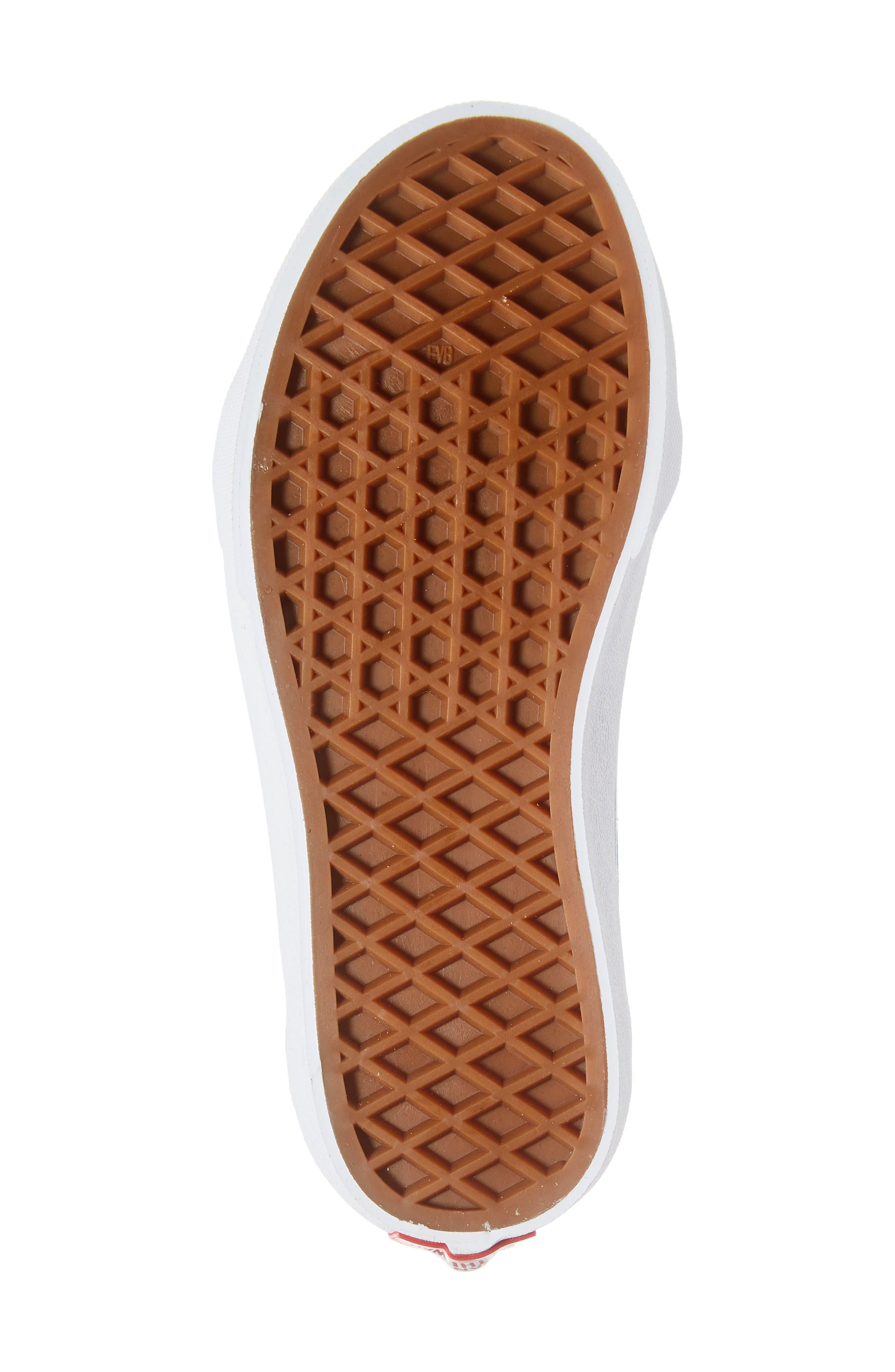 'Sk8-Hi' Sneaker,                             Alternate thumbnail 6, color,                             SHARP GREEN/ PINK LEMONADE