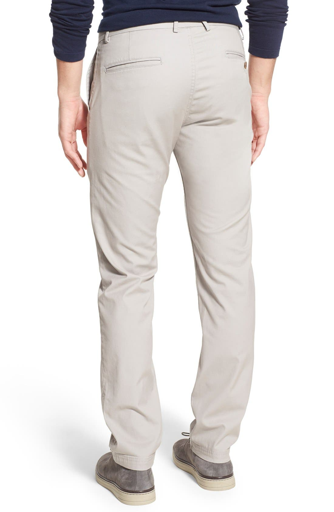 Slim Fit Stretch Chinos,                             Alternate thumbnail 40, color,