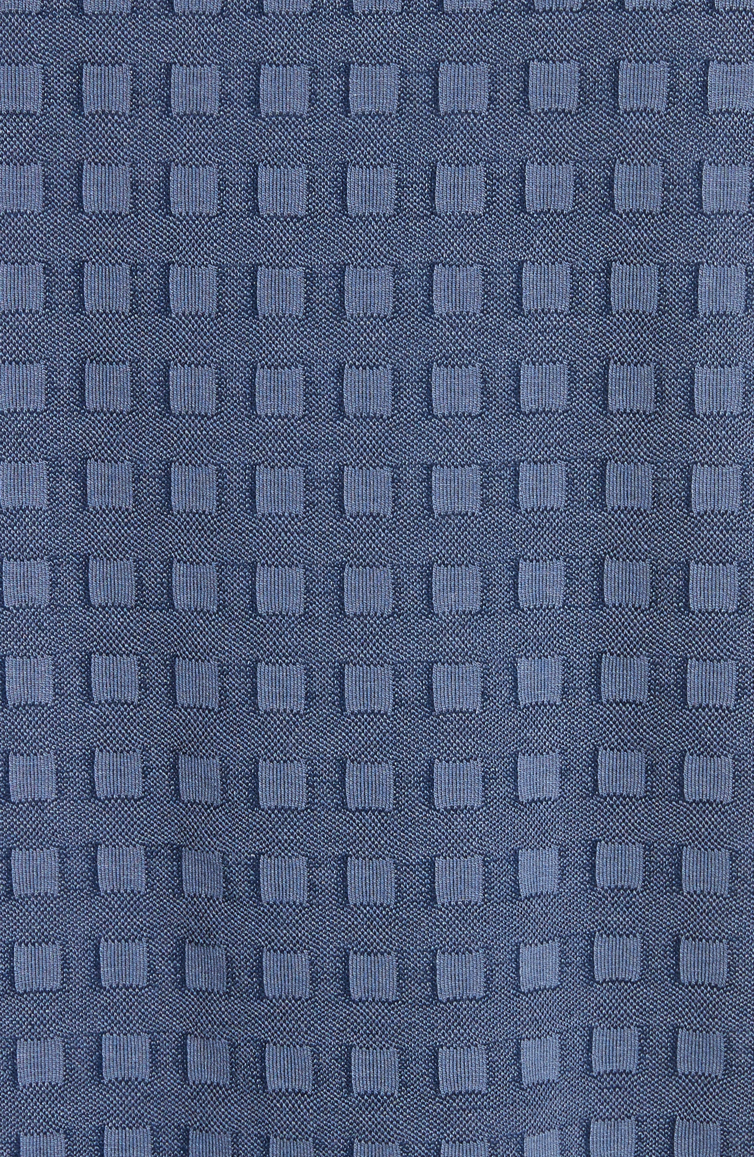 Slim Fit Geo Pattern Tee,                             Alternate thumbnail 5, color,                             400