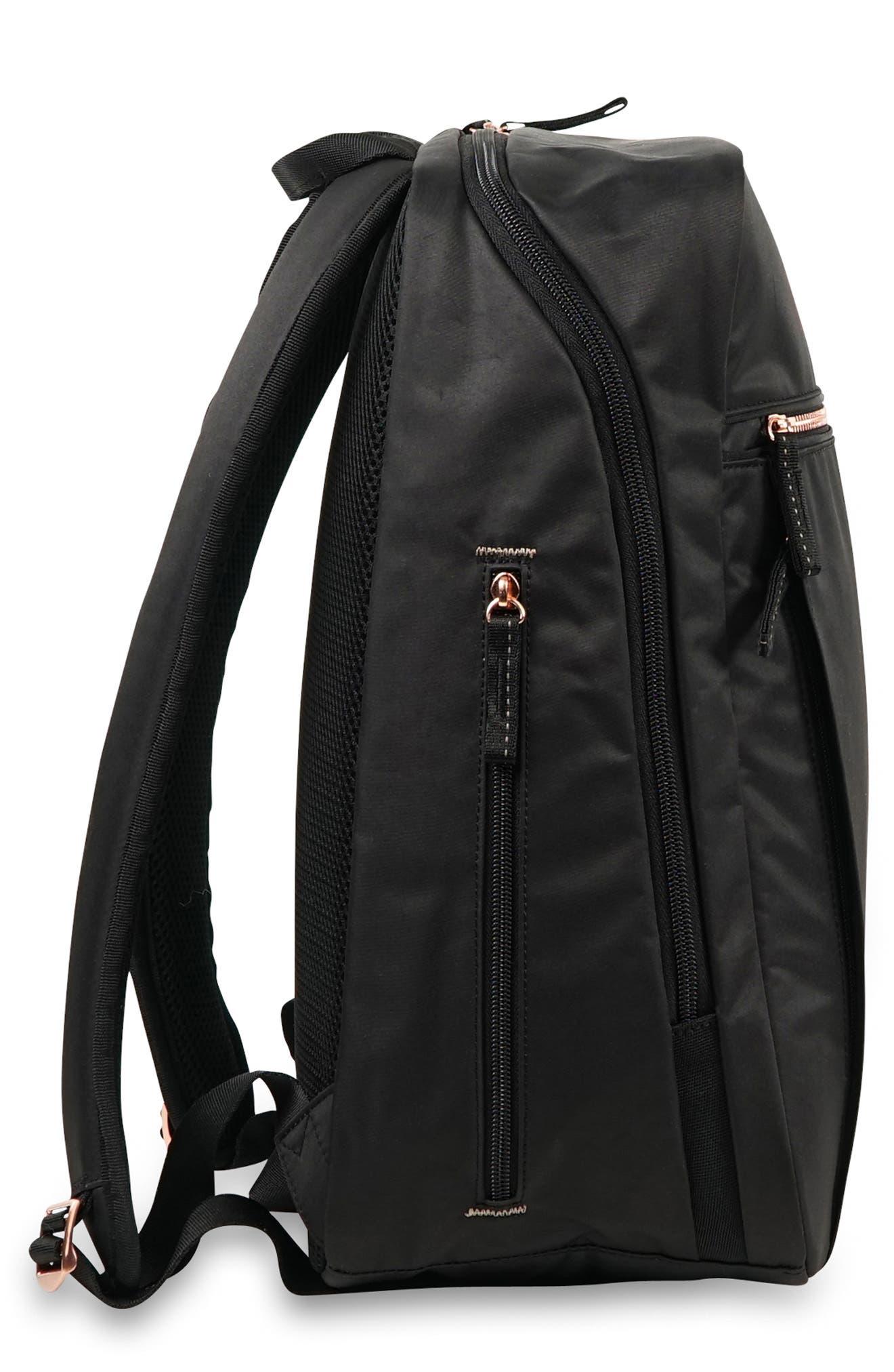JU-JU-BE,                             Ballad Backpack,                             Alternate thumbnail 4, color,                             BLACK ROSE