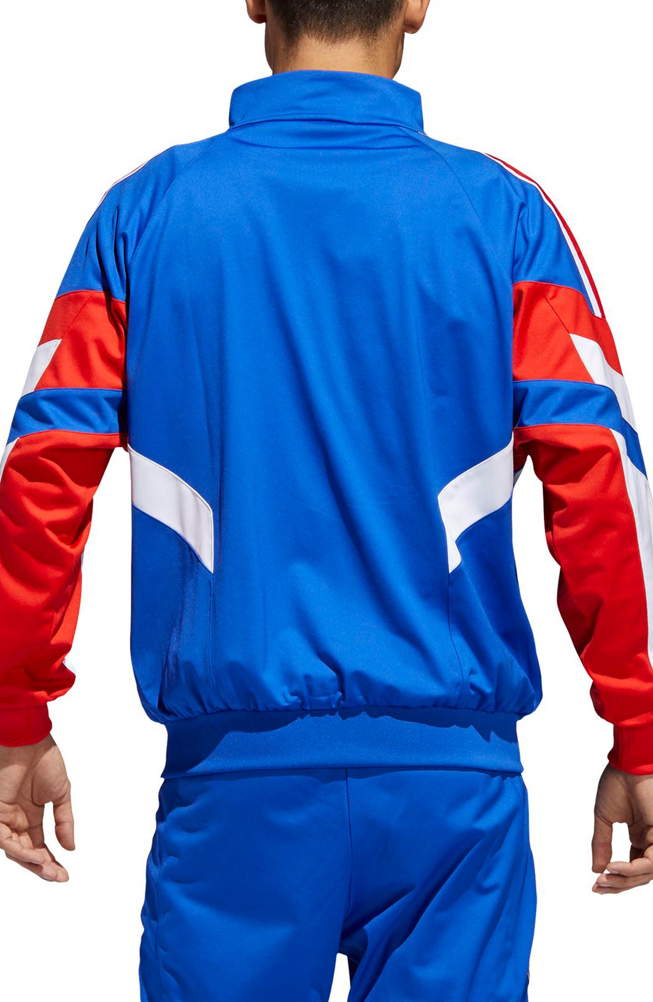 Aloxe Track Jacket,                             Alternate thumbnail 2, color,                             BOLD BLUE/ WHITE