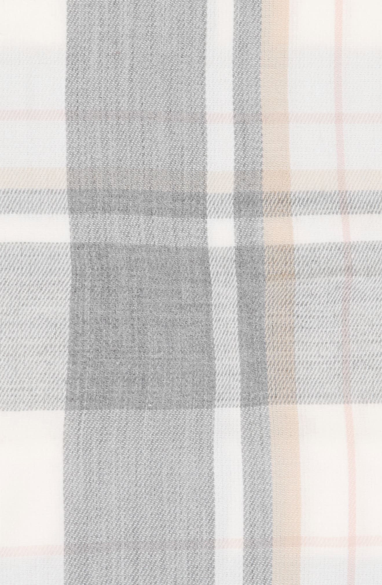 Tonal Plaid Infinity Scarf,                             Alternate thumbnail 3, color,