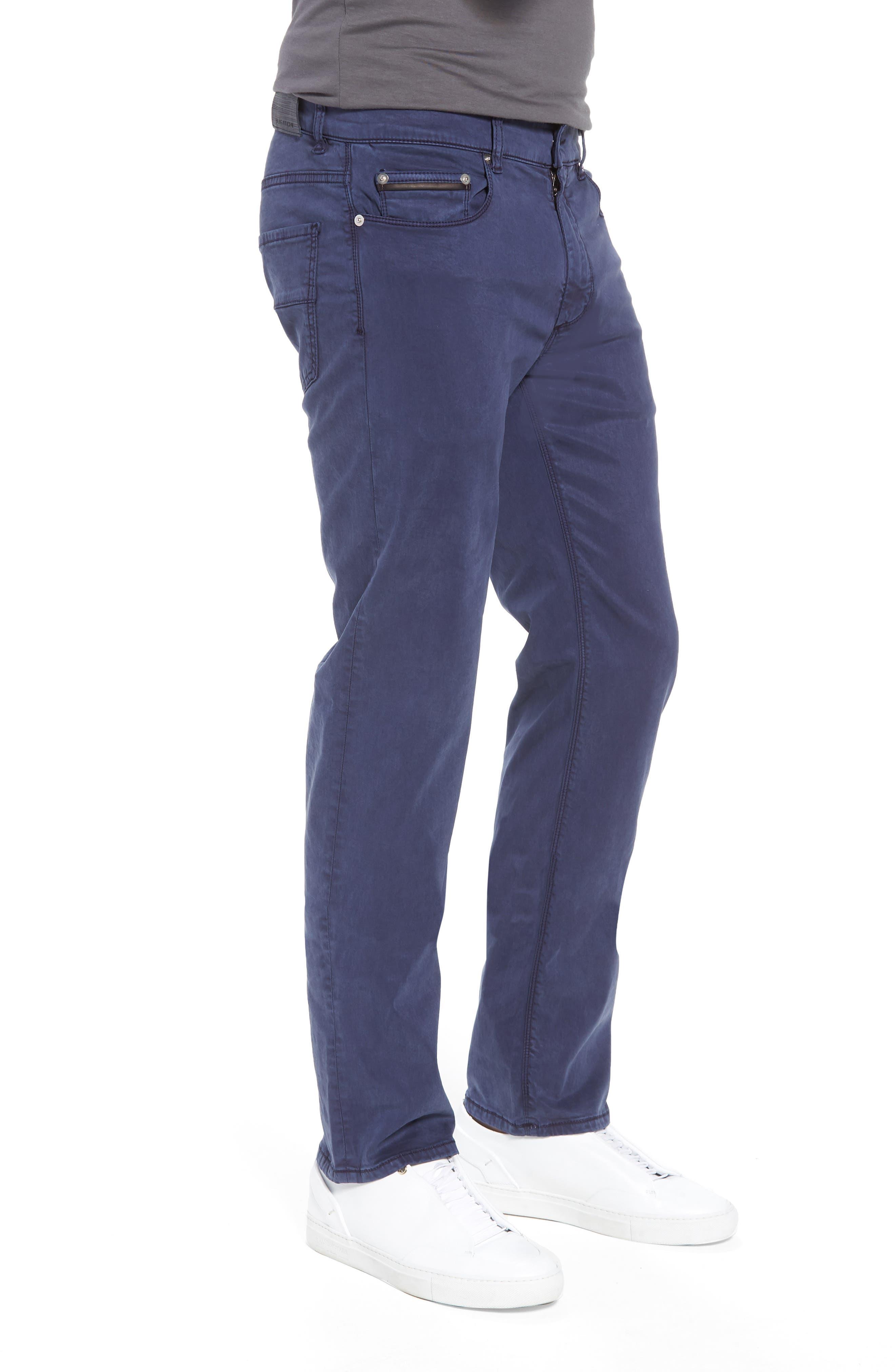 Slim Fit Washed Five-Pocket Pants,                             Alternate thumbnail 11, color,