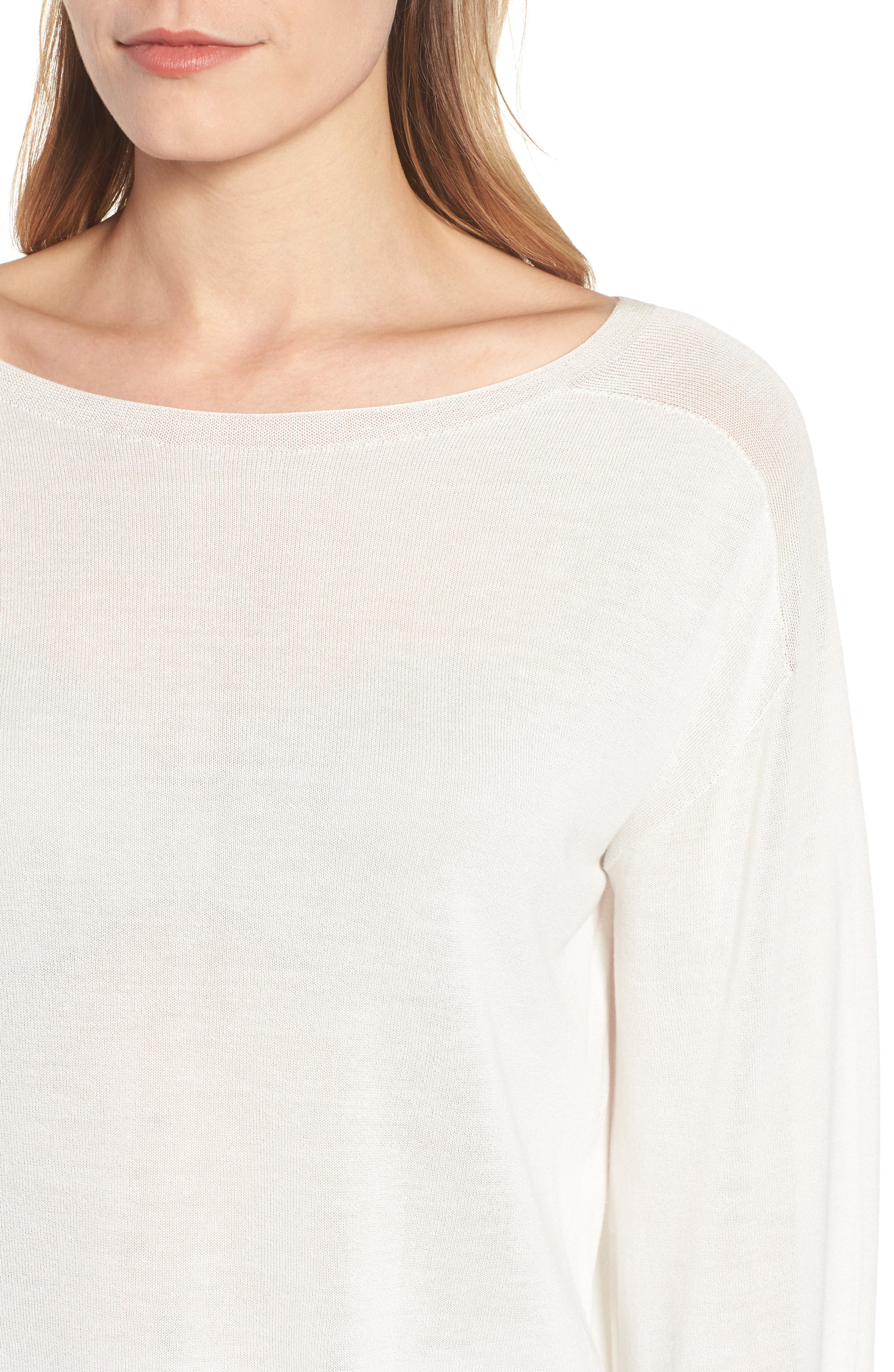 Tencel<sup>®</sup> Lyocell Knit Sweater,                             Alternate thumbnail 11, color,