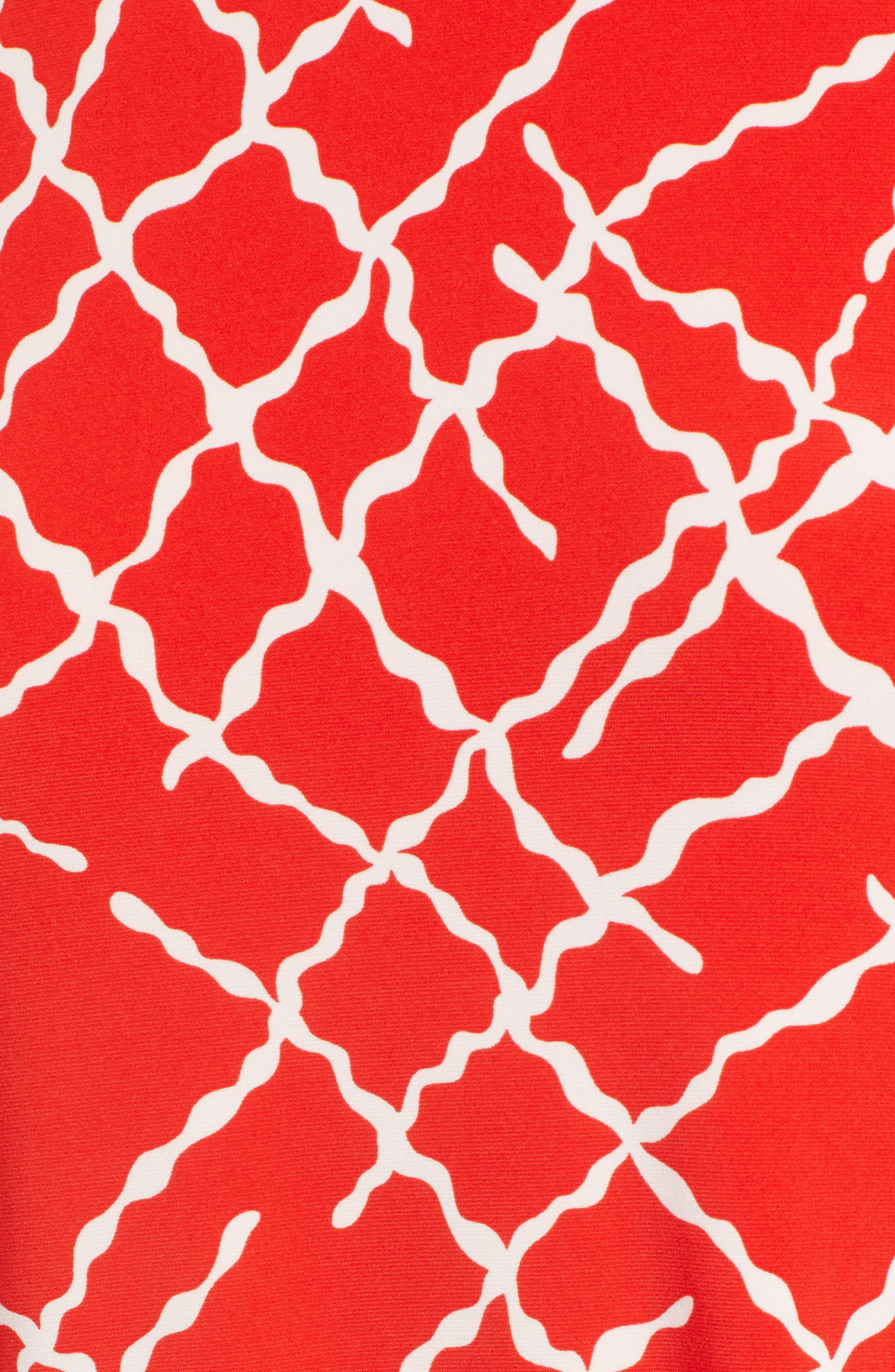 Print Swing Dress,                             Alternate thumbnail 11, color,