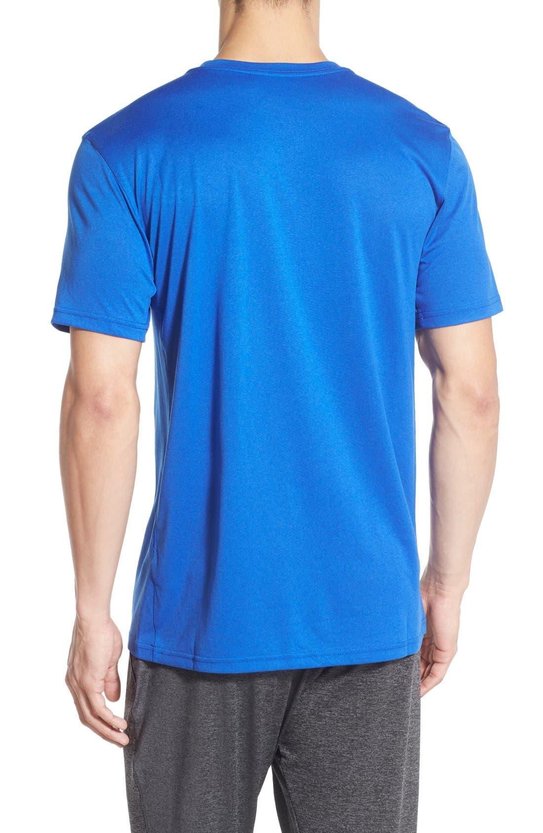 'Legend 2.0' Dri-FIT Training T-Shirt,                             Alternate thumbnail 8, color,                             GAME ROYAL/ BLACK/ BLACK