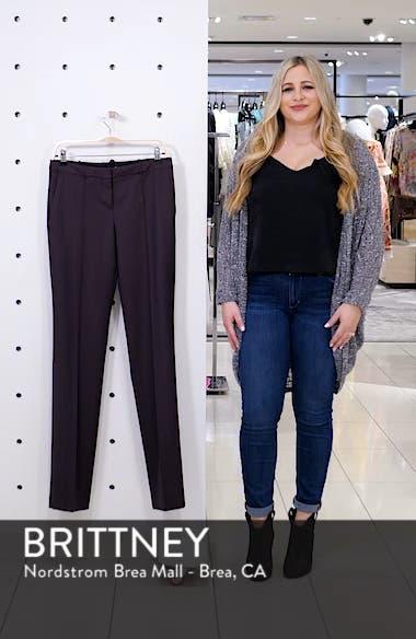 Tamea Slim Wool Suit Pants, sales video thumbnail