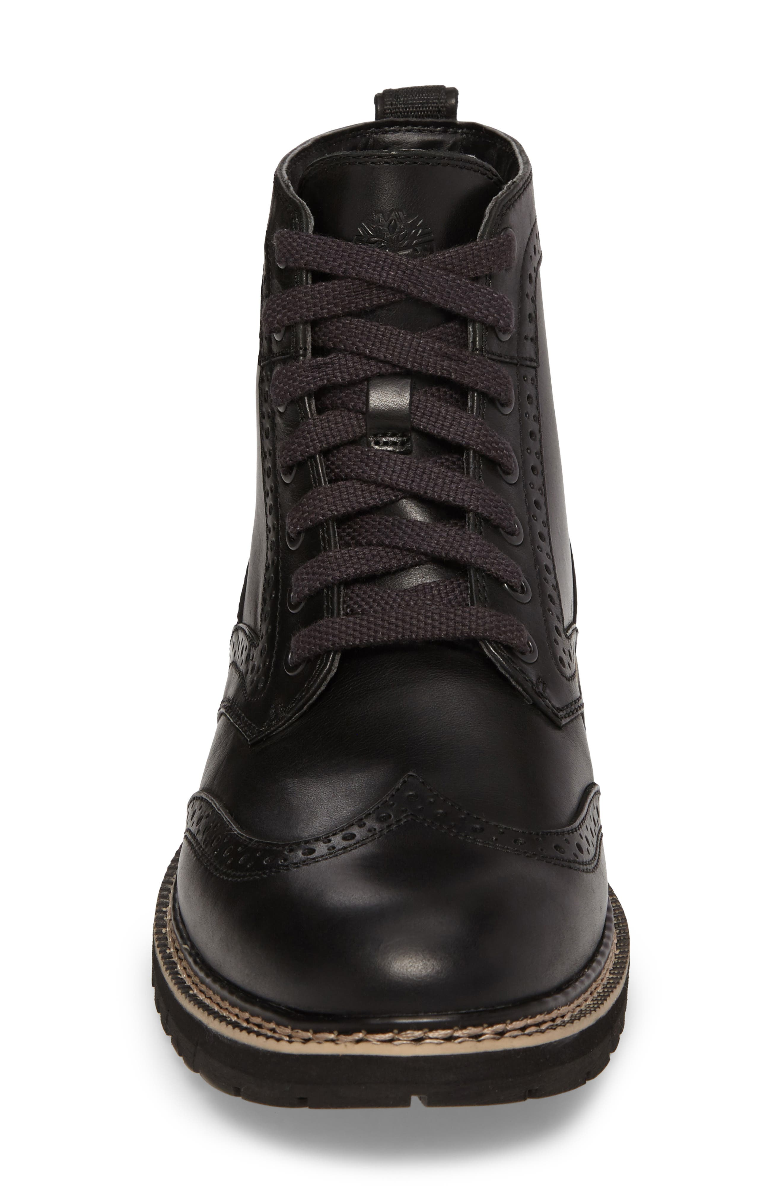 Britton Hill Wingtip Boot,                             Alternate thumbnail 7, color,