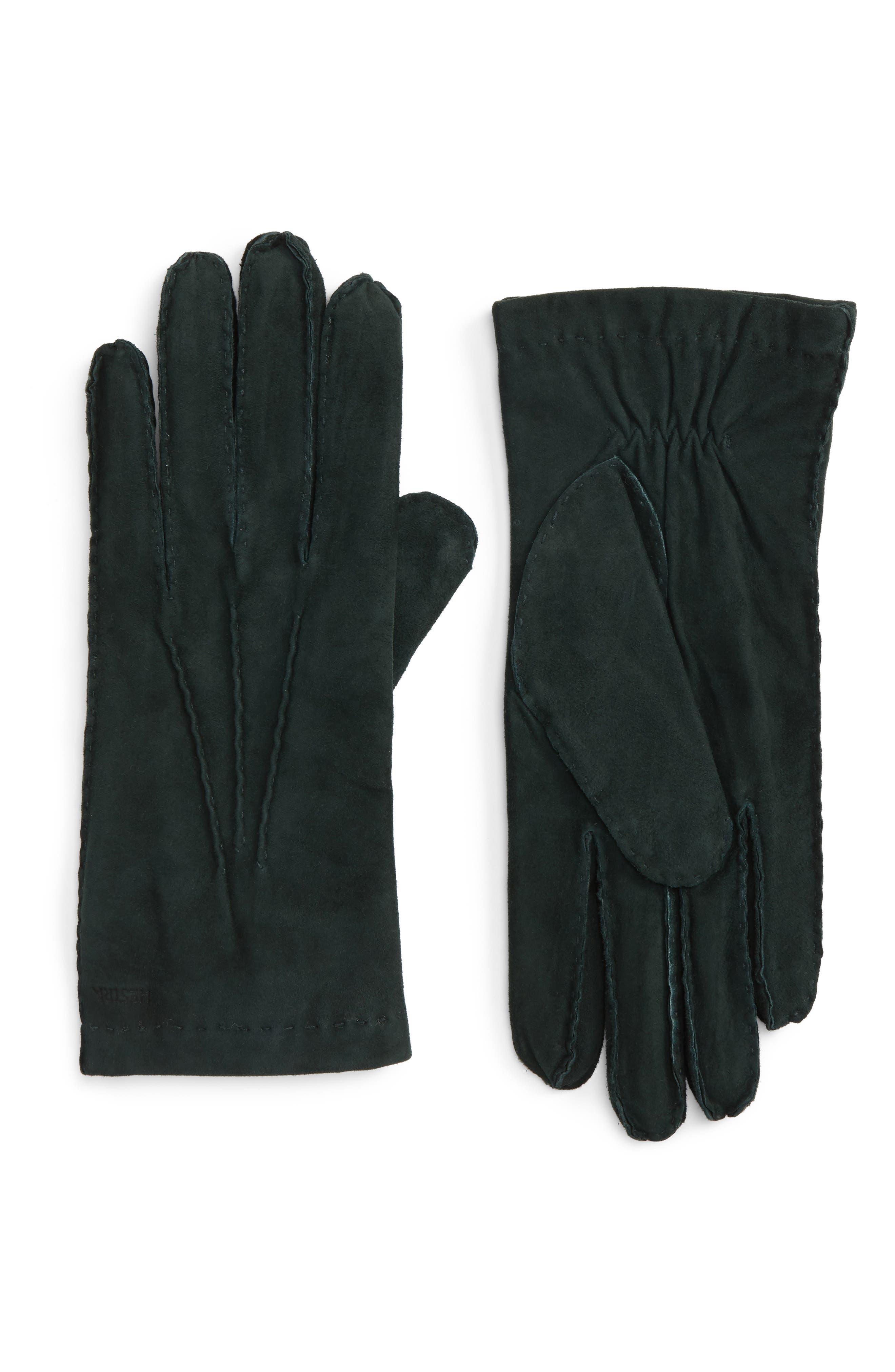 'Arthur' Suede Gloves,                             Main thumbnail 4, color,