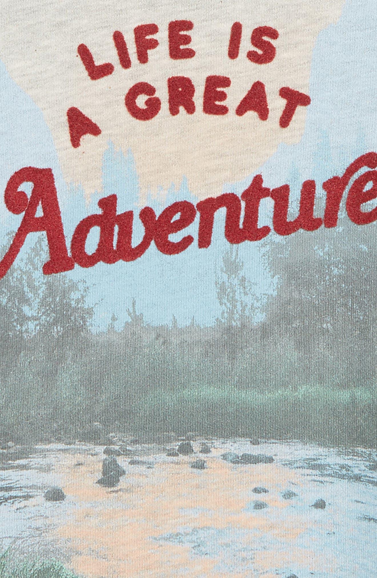 Adventure Crew Graphic Sweatshirt,                             Alternate thumbnail 2, color,                             LIGHT HEATHER GREY