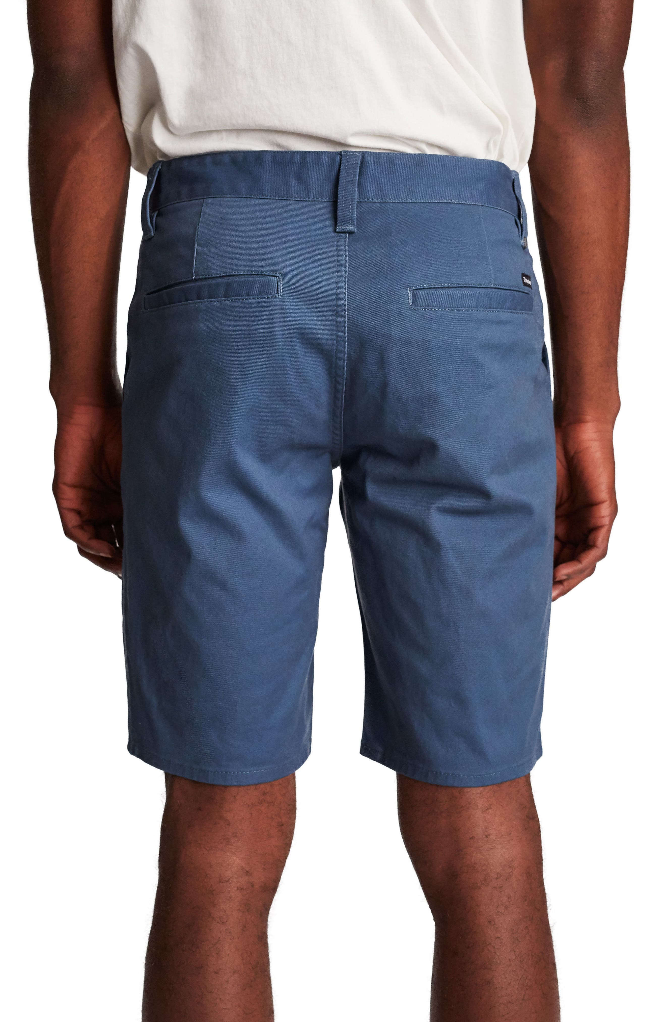 Toil II Hemmed Chino Shorts,                             Alternate thumbnail 2, color,                             414