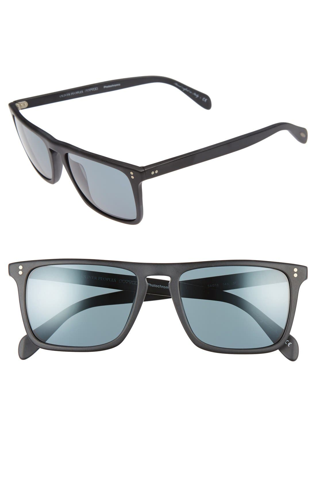 'Bernardo' 54mm Sunglasses,                         Main,                         color, 001