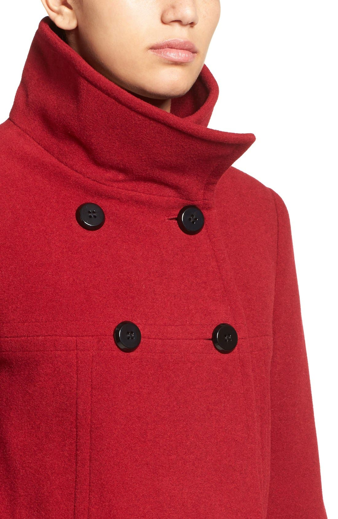 Double Breasted Coat,                             Alternate thumbnail 24, color,