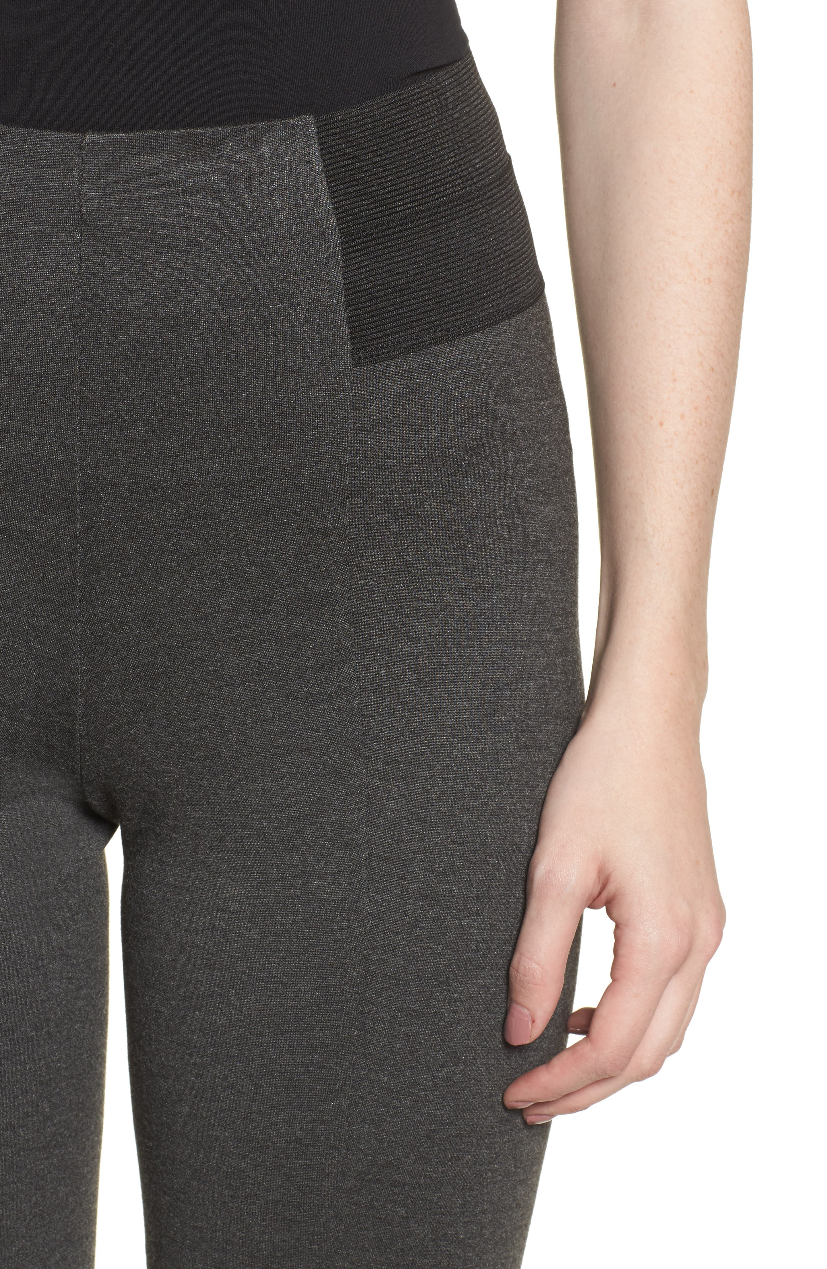 Ponte Leggings,                             Alternate thumbnail 4, color,                             090