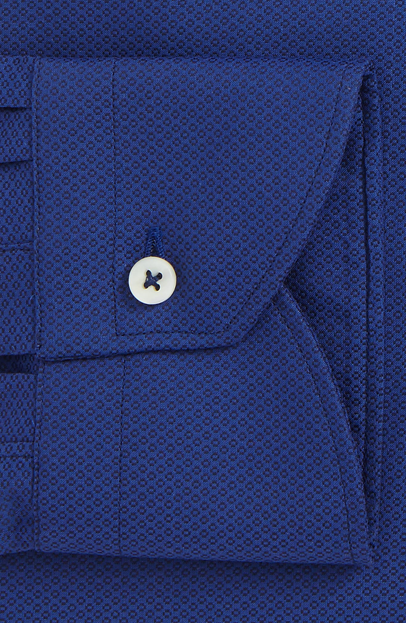 Regular Fit Geometric Dress Shirt,                             Alternate thumbnail 2, color,