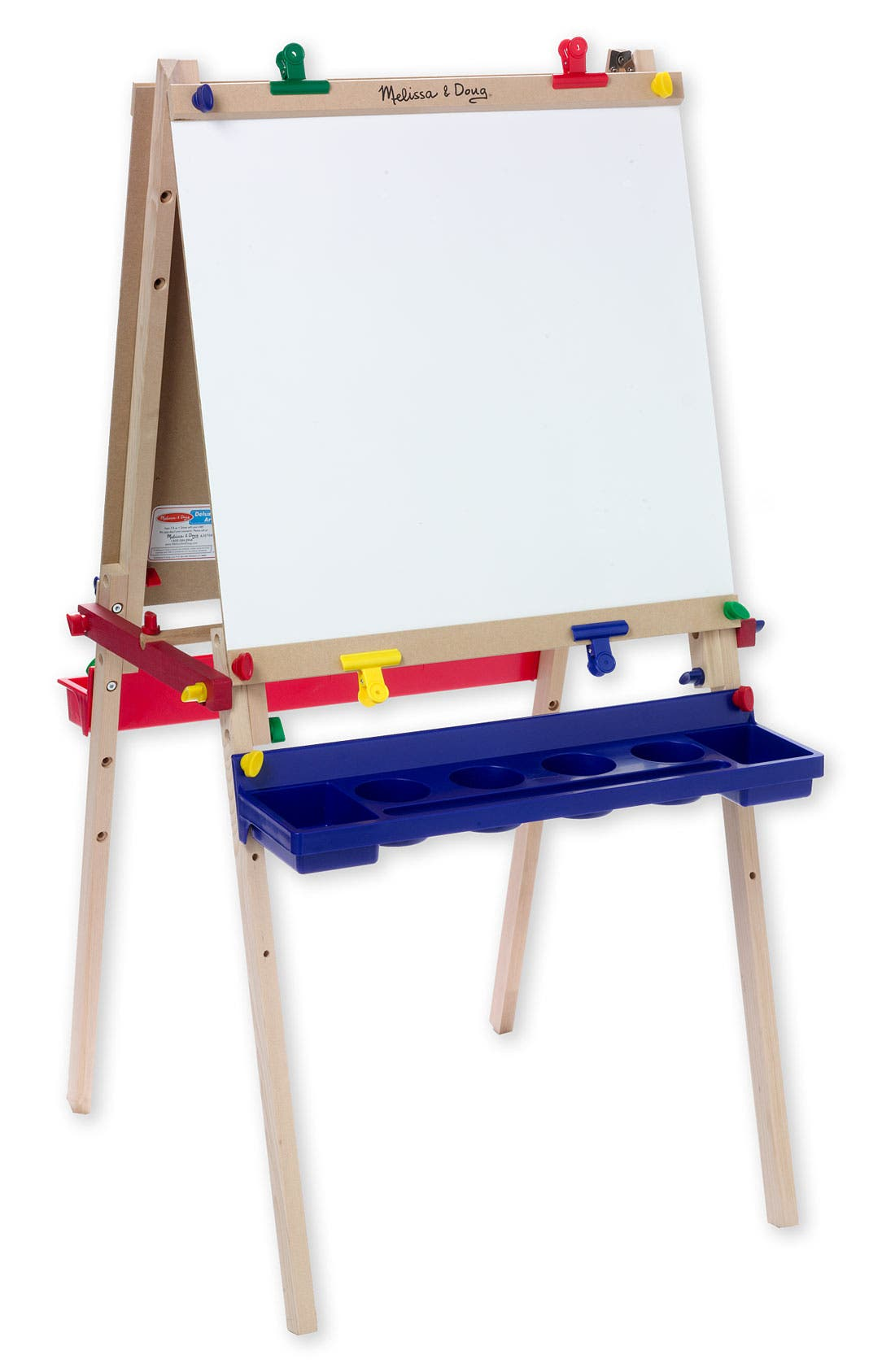 Standing Wooden Art Easel,                         Main,                         color, MULTI